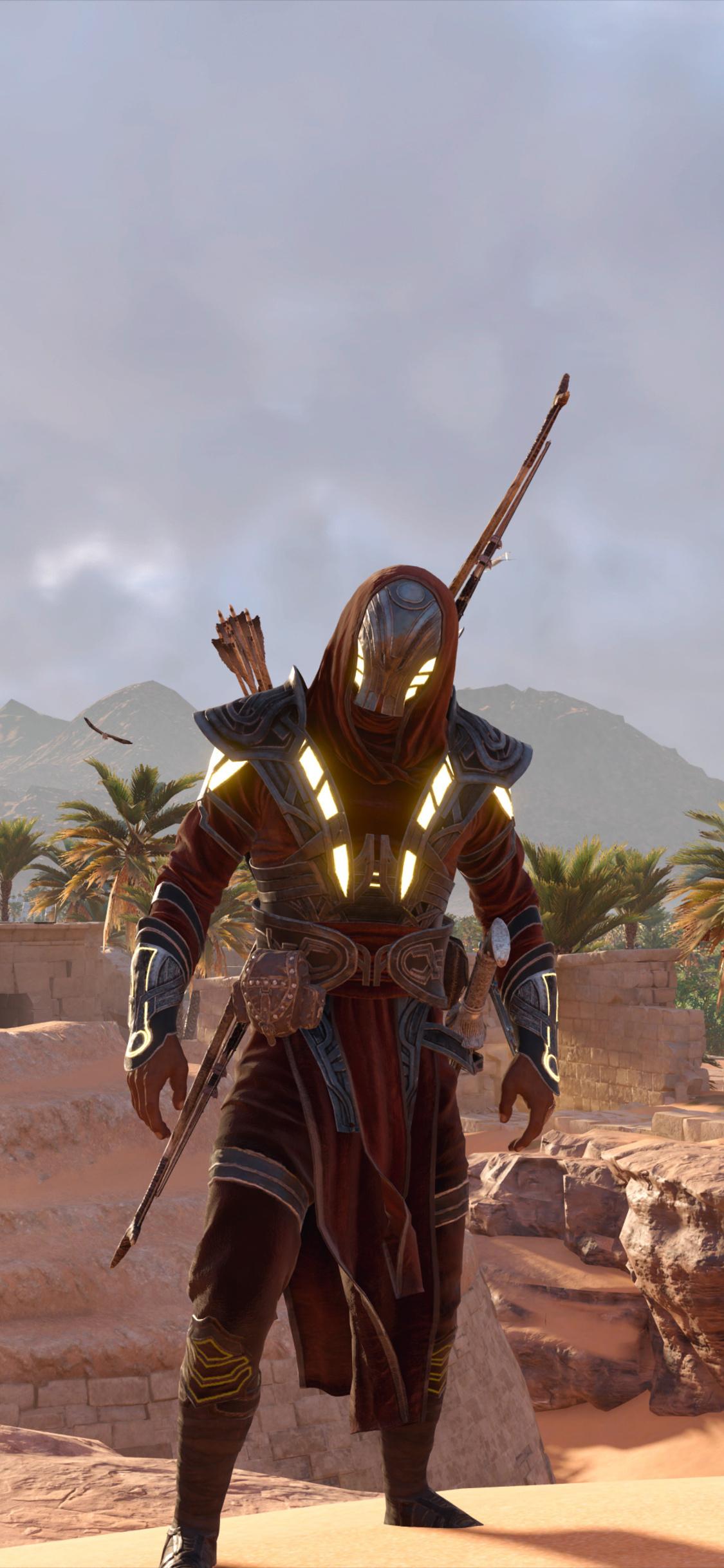 1125x2436 Assassins Creed Origins Video Game 4k Iphone Xs Iphone 10