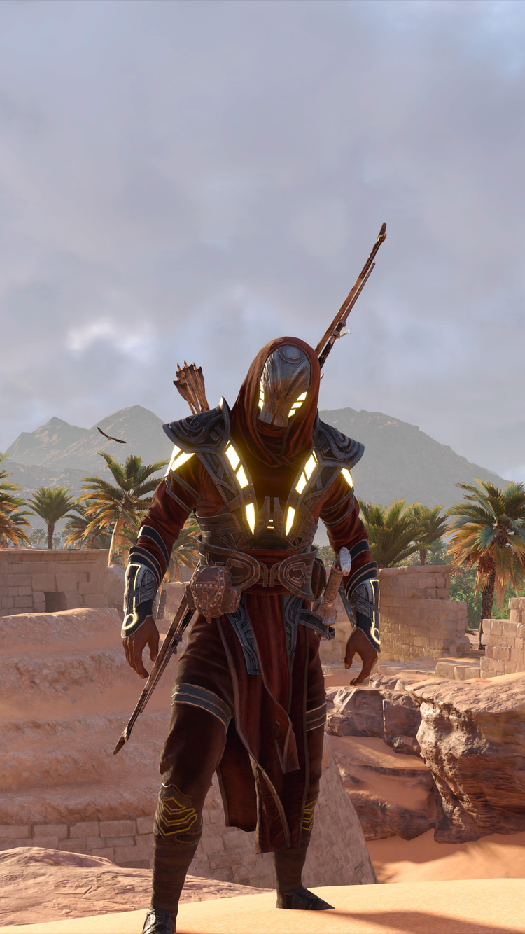 750x1334 Assassins Creed Origins Video Game 4k Iphone 6 Iphone 6s