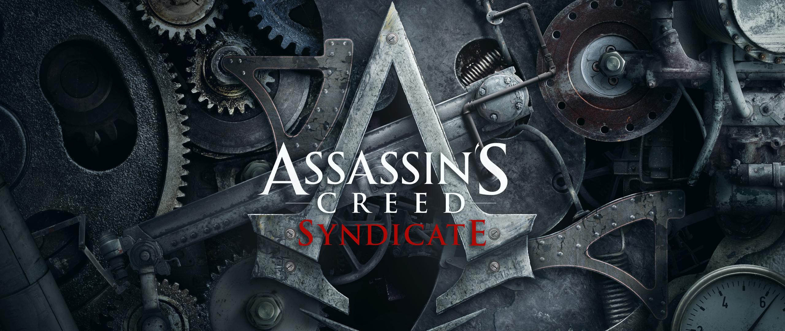 2560x1080 Assassins Creed Syndicate Logo 2560x1080 Resolution Hd