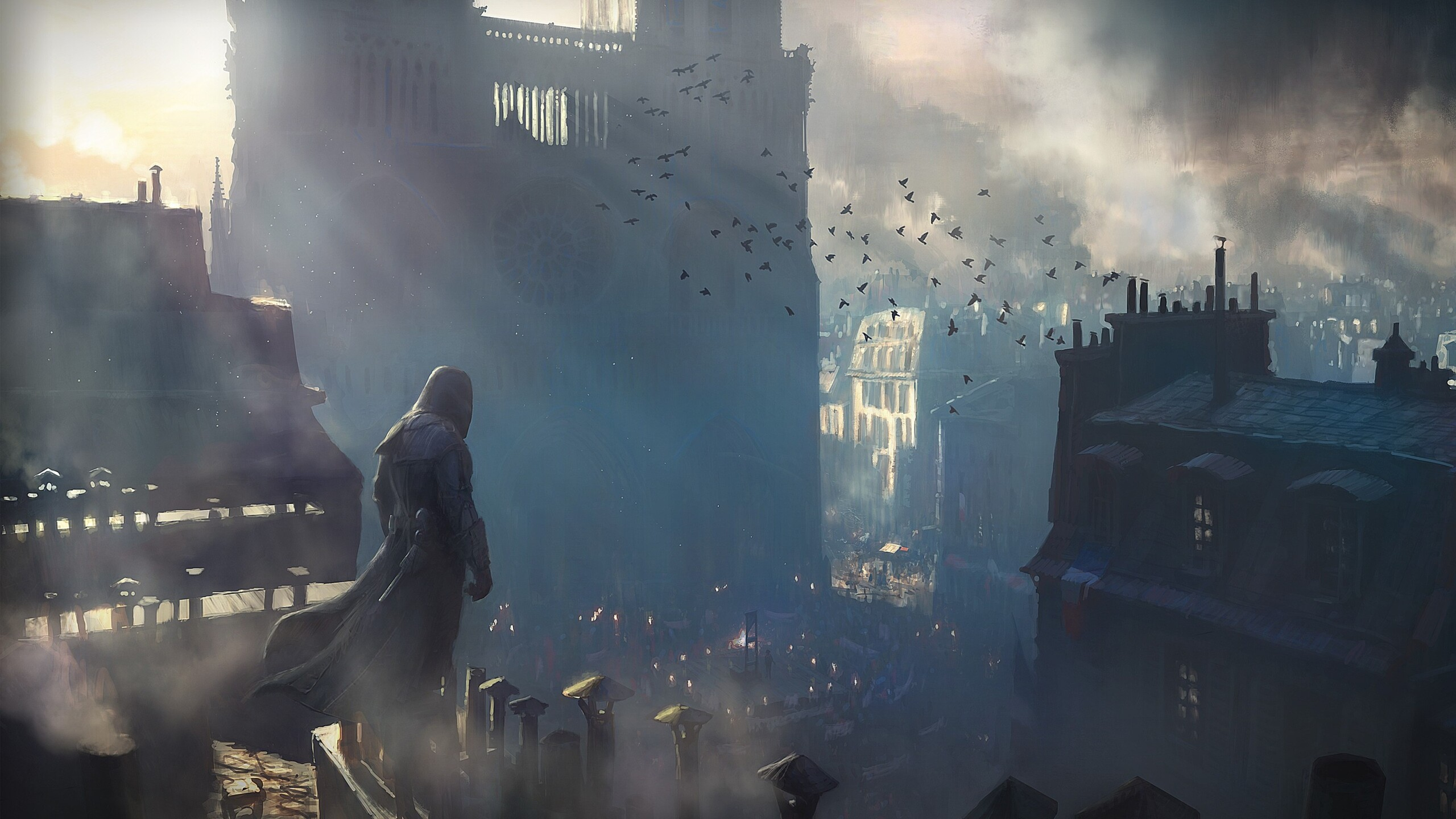 2560x1440 Assassins Creed Unity Game 1440p Resolution Hd 4k