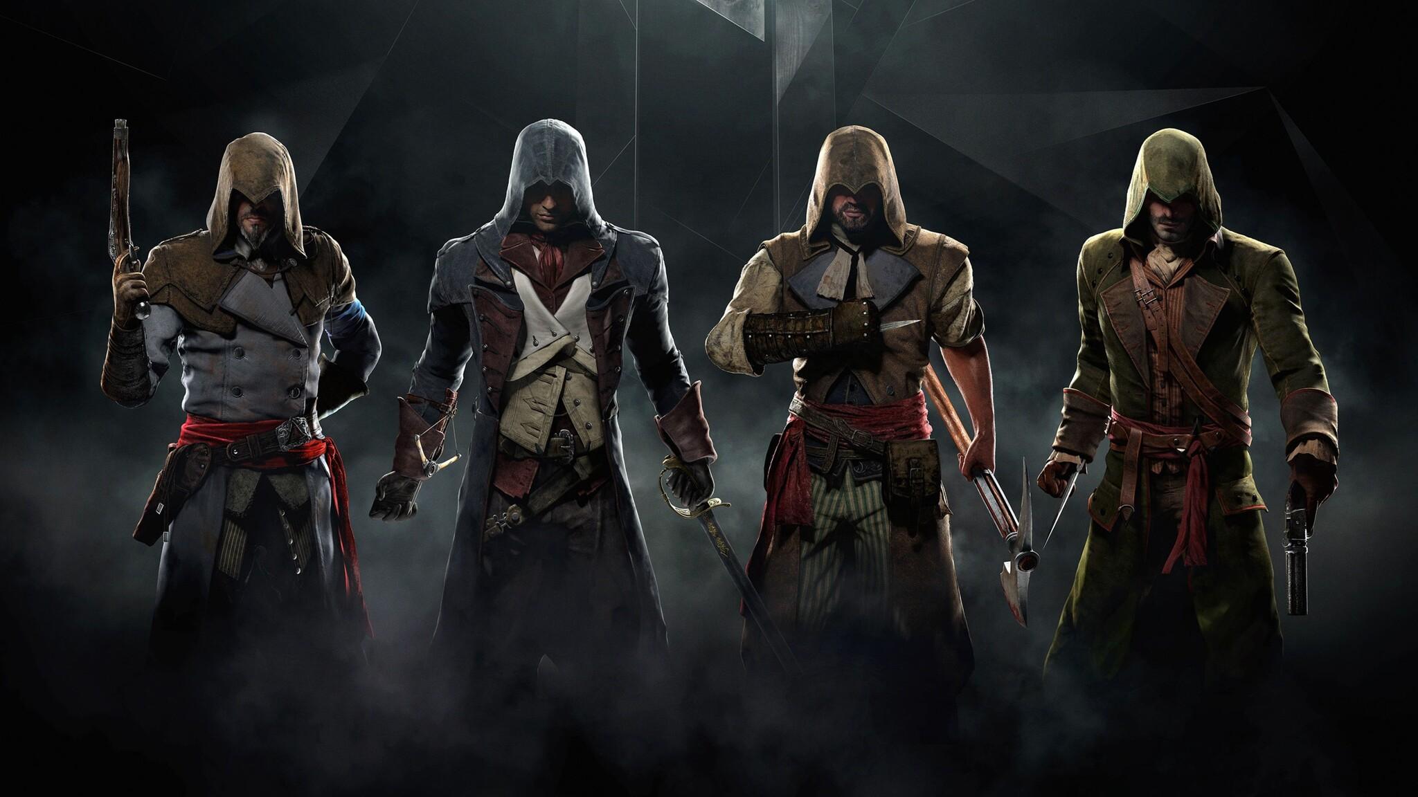<b>Assassins Creed</b> Character Art HD desktop wallpaper : Widescreen ...
