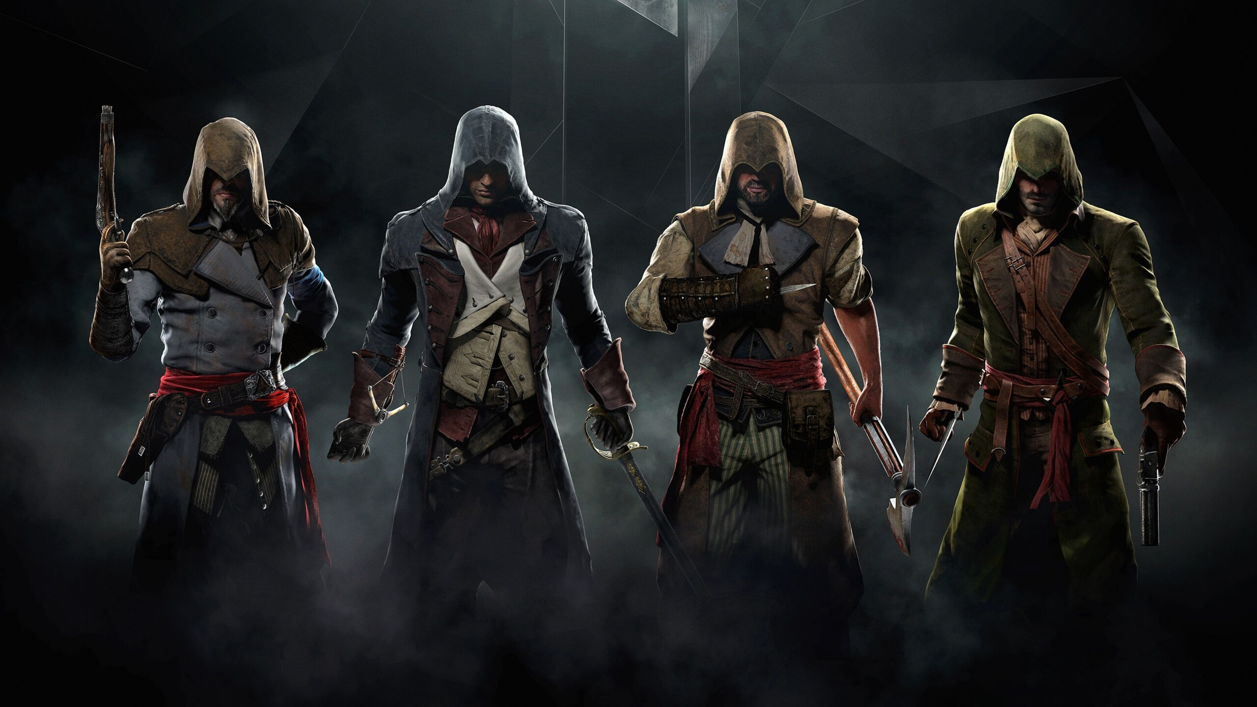 2560x1440 assassins creed unity game desktop 1440p