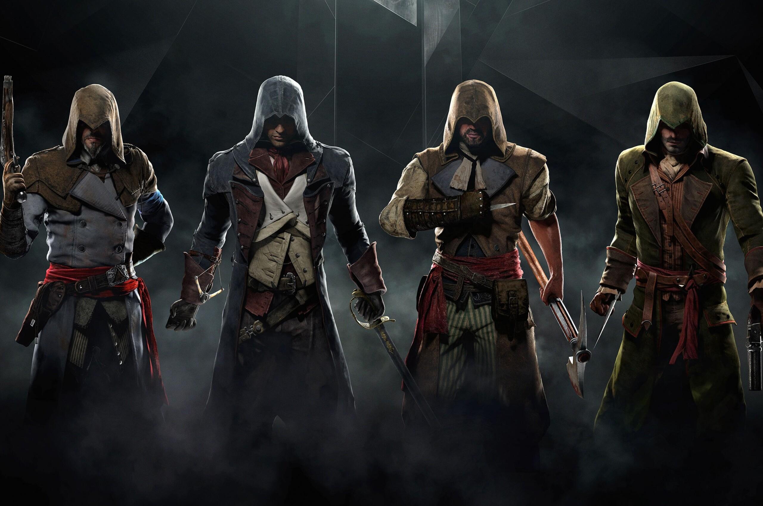 2560x1700 Assassins Creed Unity Game Desktop Chromebook Pixel HD 4k
