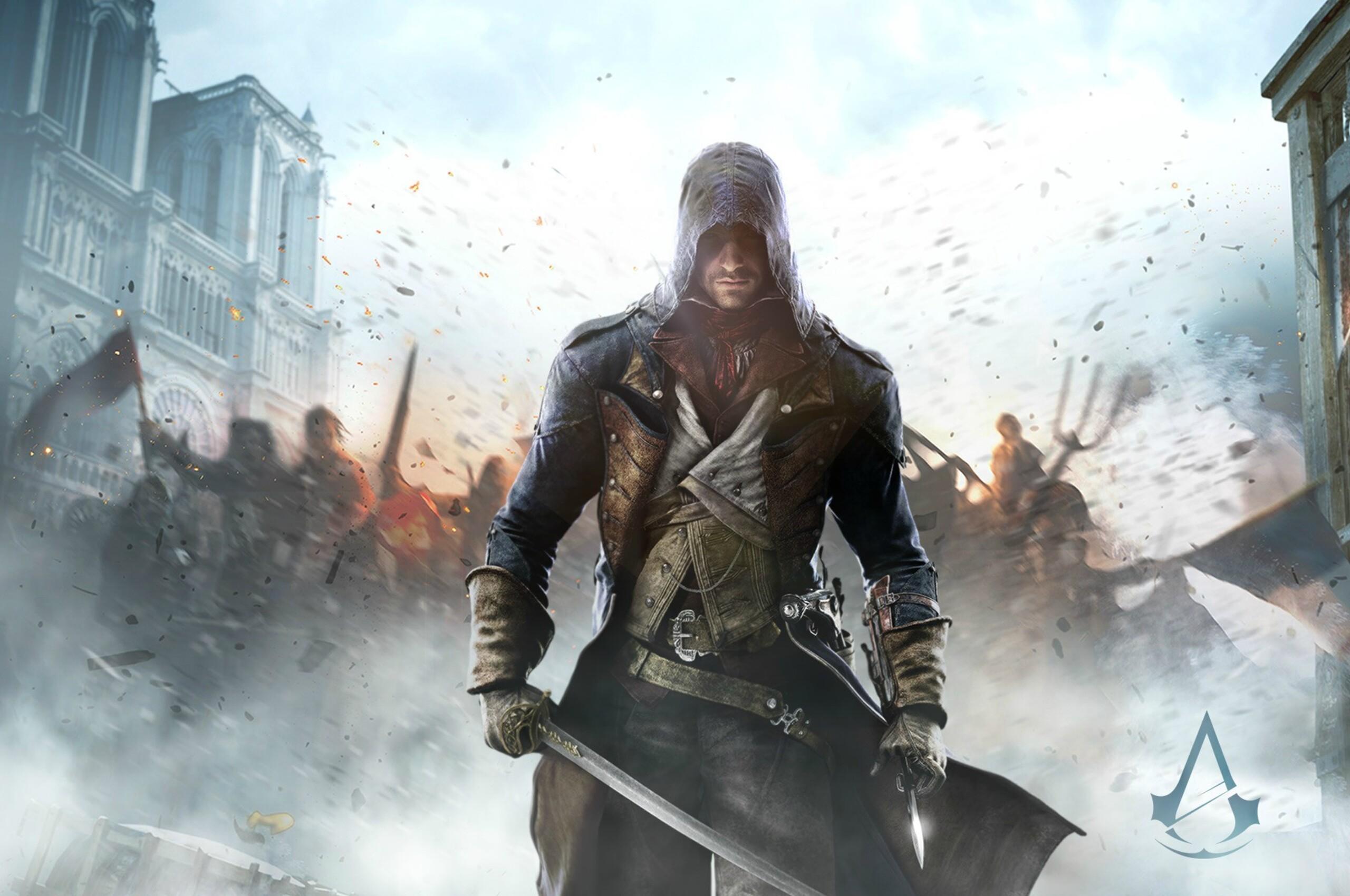 2560x1700 Assassins Creed Unity Game HD Chromebook Pixel HD 4k