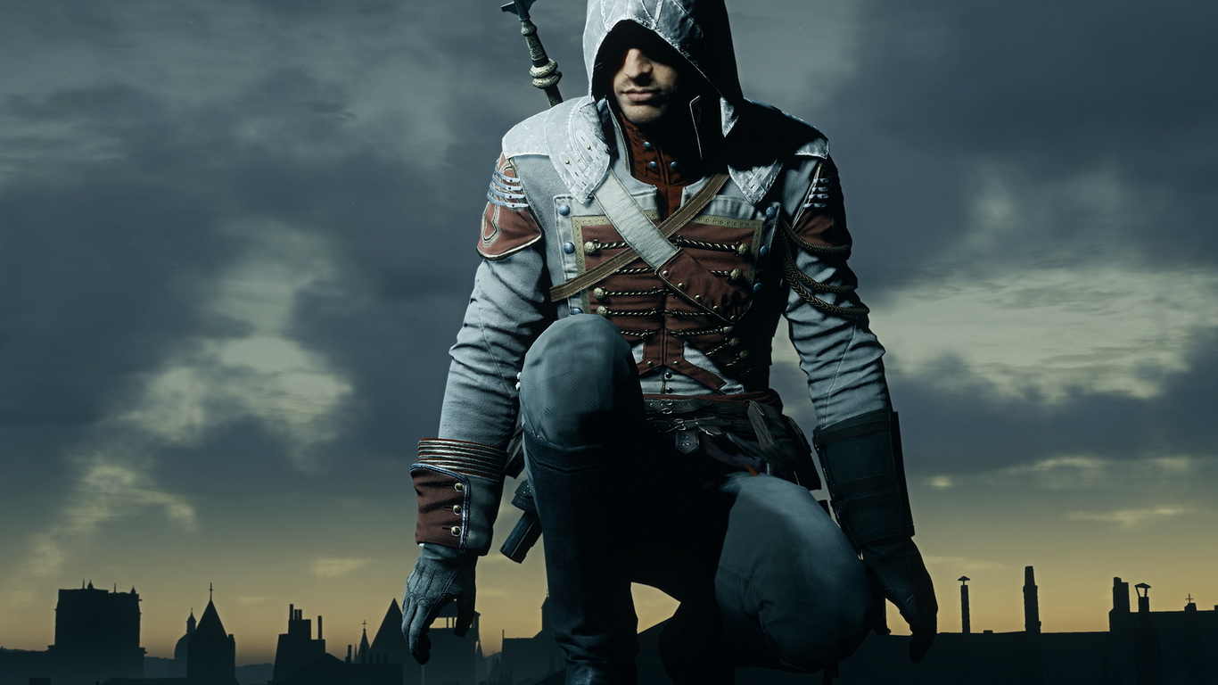 1366x768 Assassins Creed Unity Video Game 1366x768 Resolution Hd
