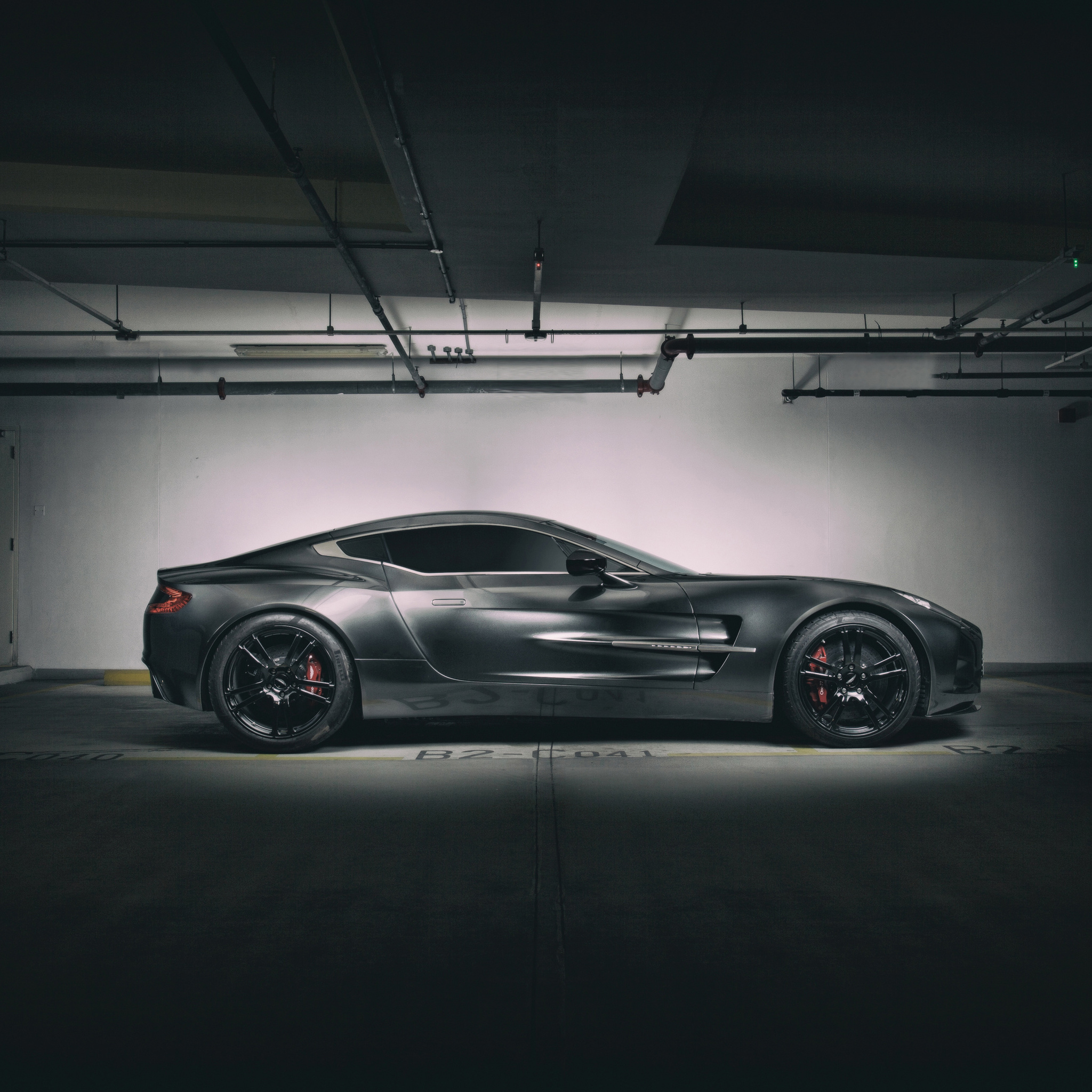 aston martin q one 77 in 2048x2048 resolution. Cars Review. Best American Auto & Cars Review