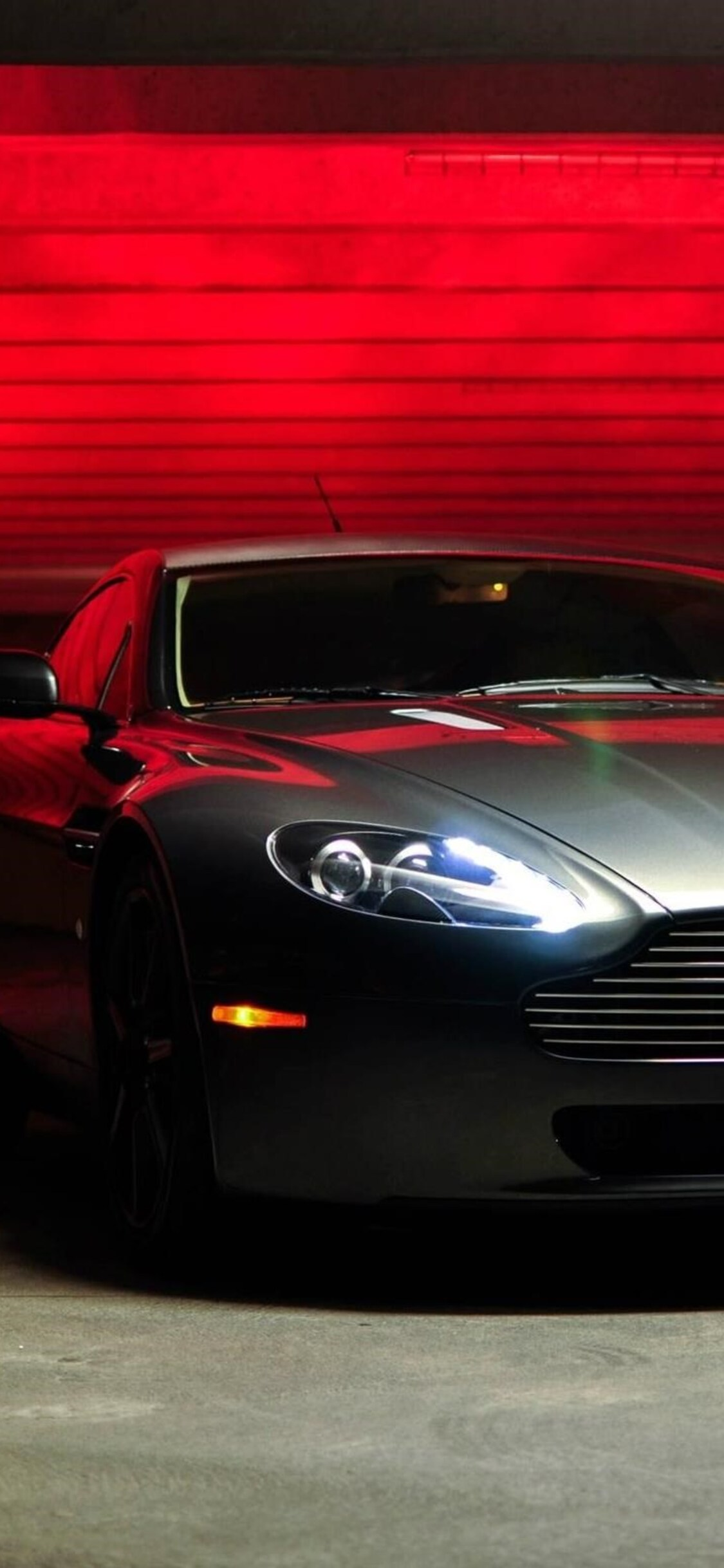 best loved e0fde 91908 1125x2436 Aston Martin Vantage Lights Iphone XS,Iphone 10,Iphone X ...