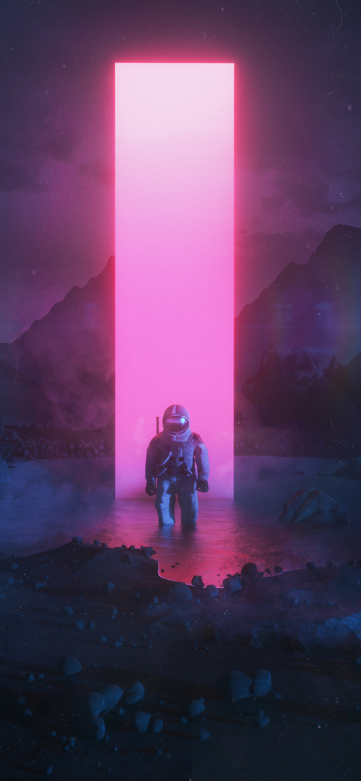 1242x2688 Astronaut Graphic Art Iphone Xs Max Hd 4k