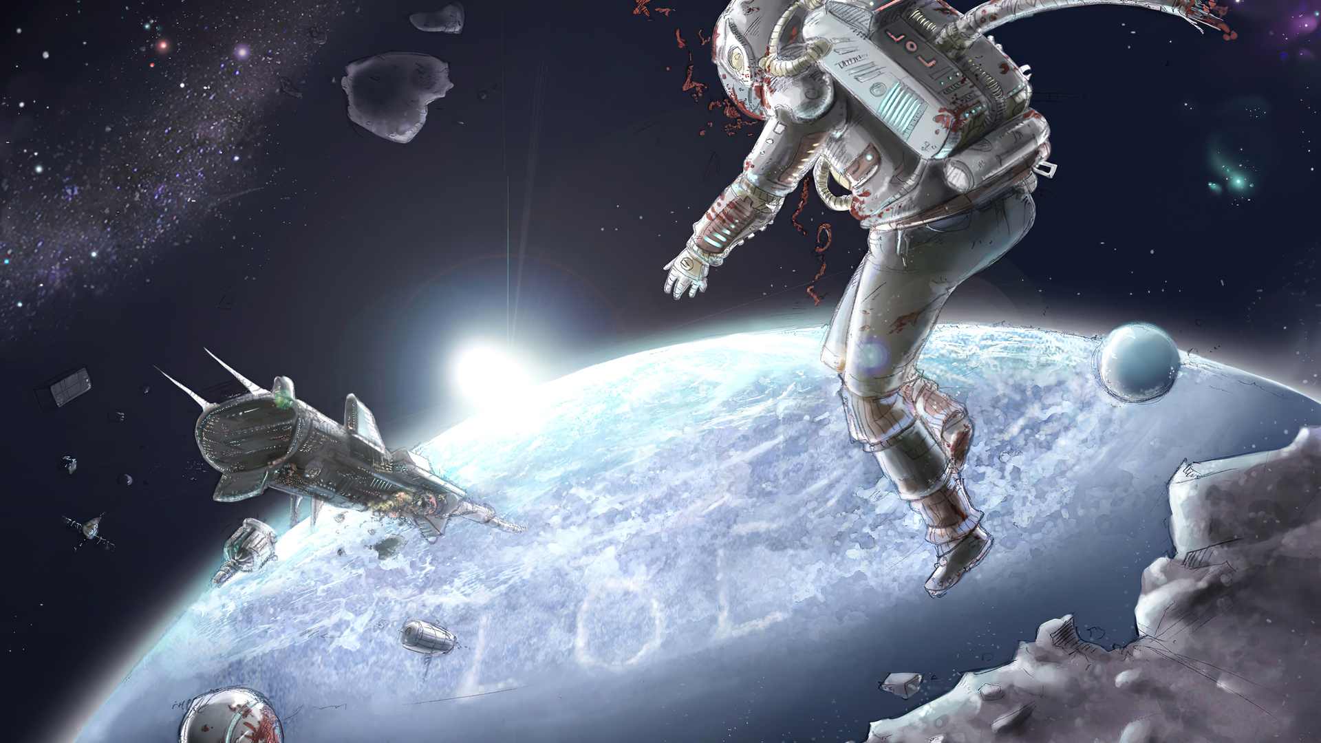 1920x1080 Astronaut Scifi Space 4k Laptop Full Hd 1080p Hd 4k Wallpapers Images Backgrounds Photos And Pictures