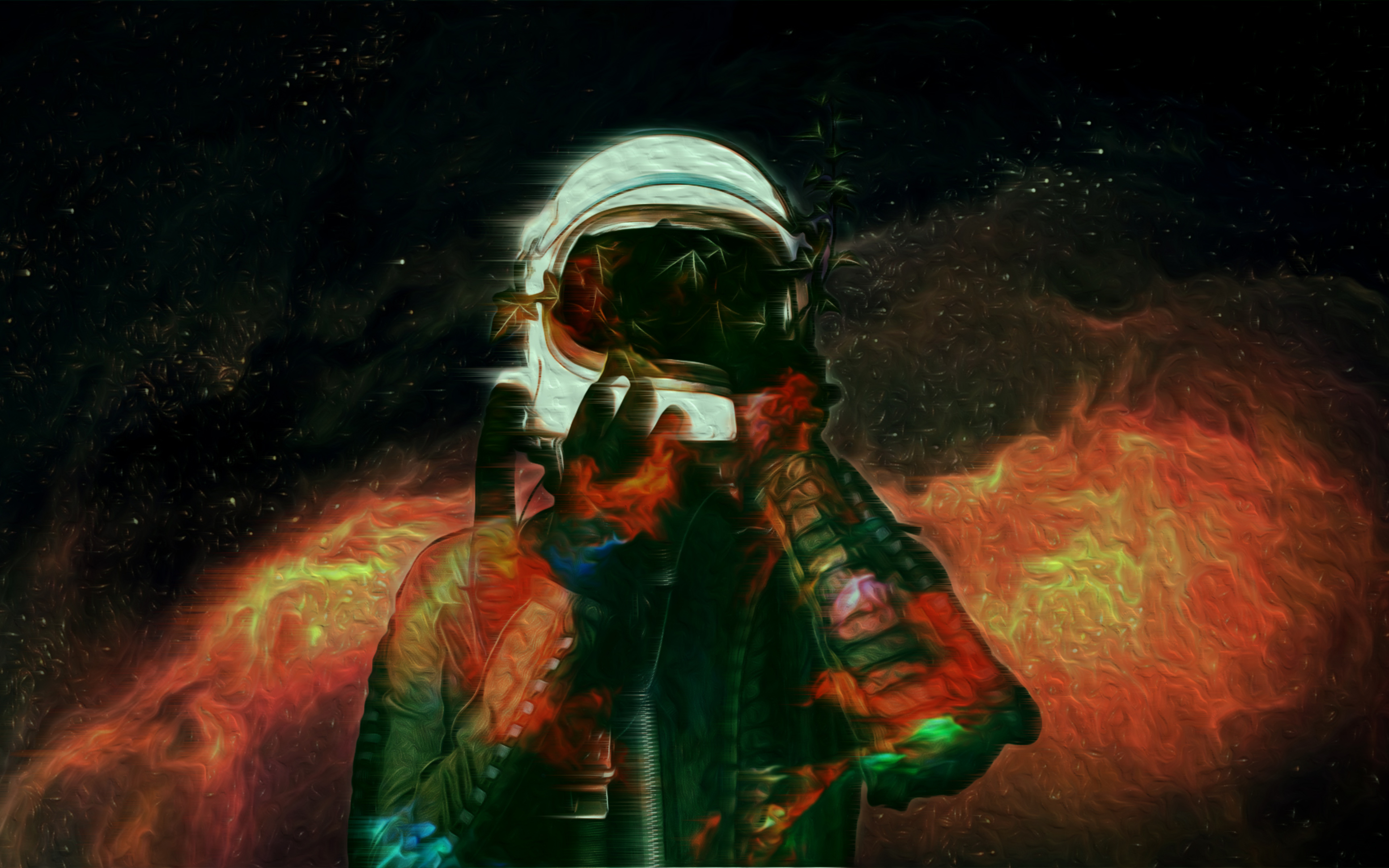 3840x2400 Astronaut Space Abstract 4k HD 4k Wallpapers ...