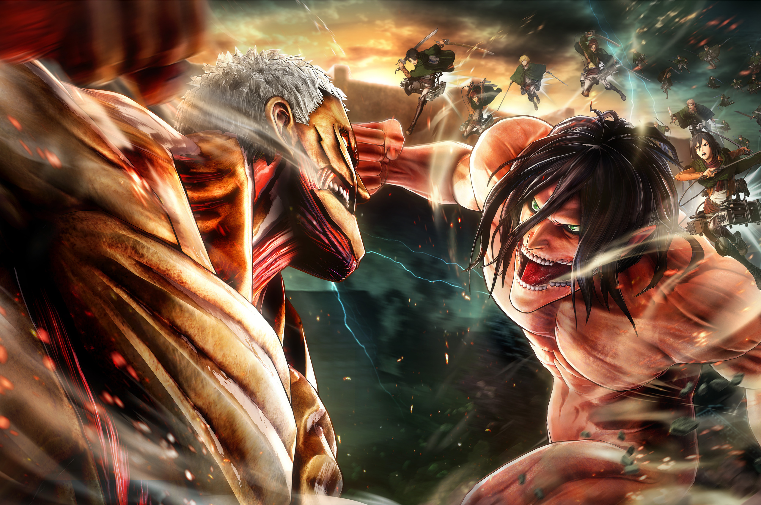 2560x1700 Attack On Titan 2 Chromebook Pixel Hd 4k Wallpapers Images Backgrounds Photos And Pictures