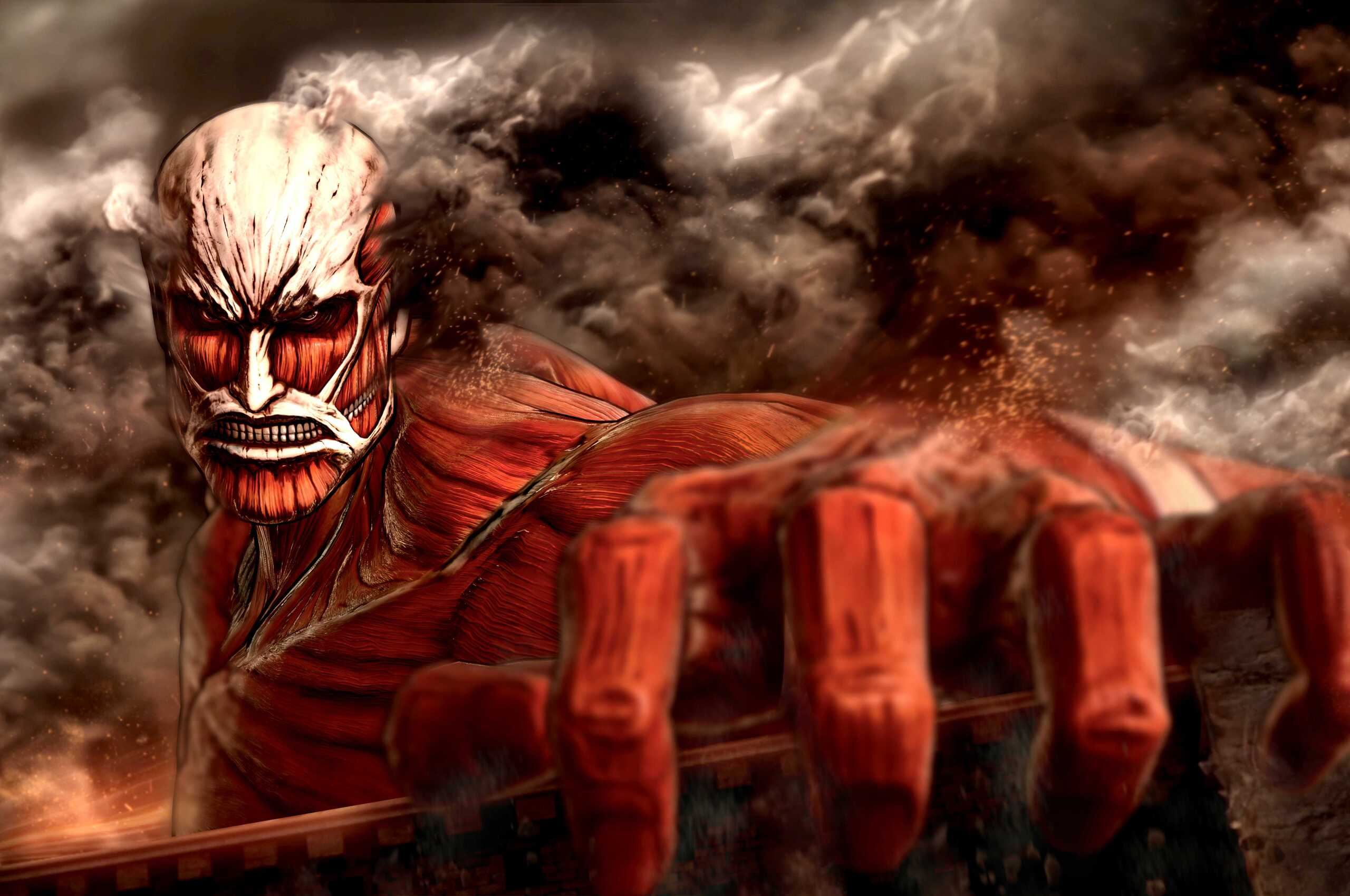 2560x1700 Attack On Titan Chromebook Pixel Hd 4k Wallpapers Images Backgrounds Photos And Pictures