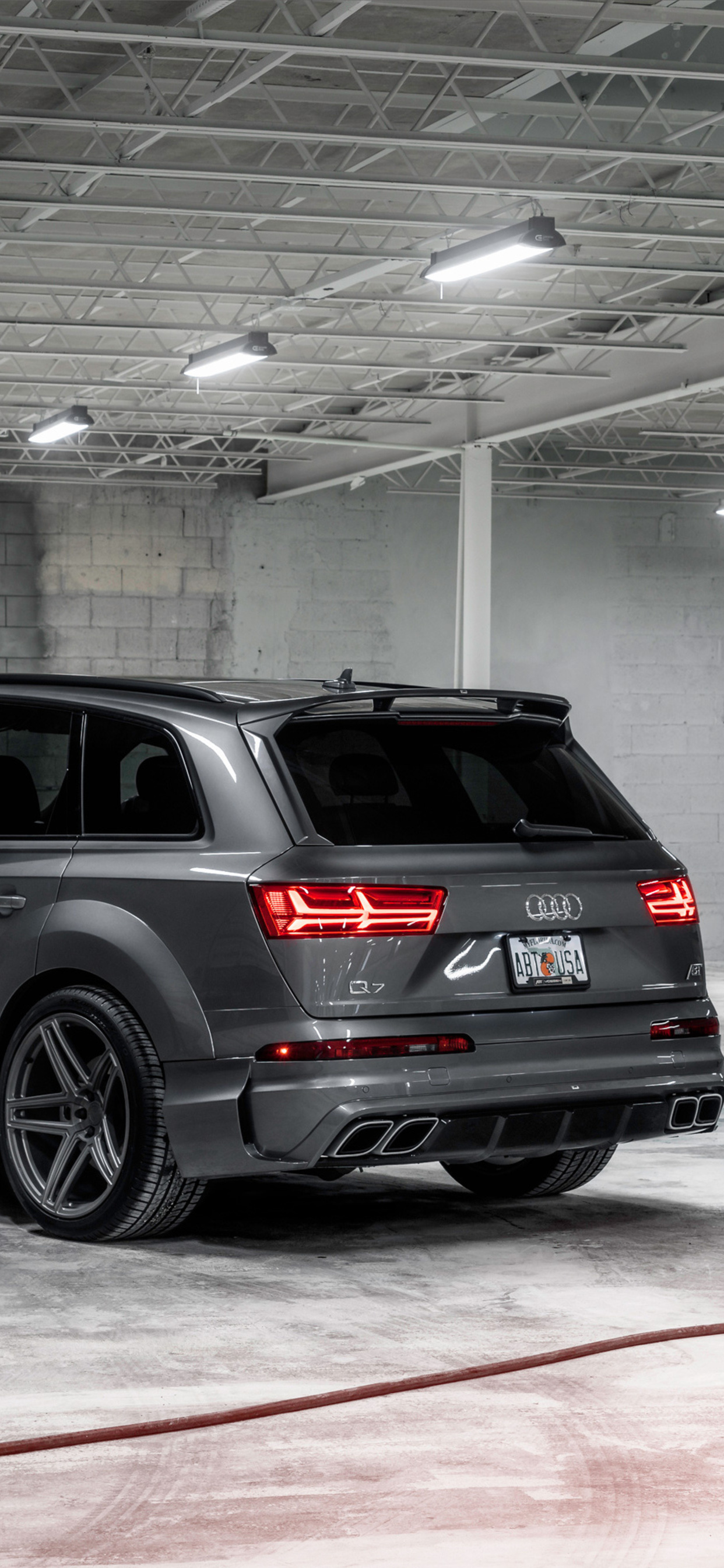 1242x2688 Audi Q7 Abt Vossen 2017 Iphone Xs Max Hd 4k Wallpapers