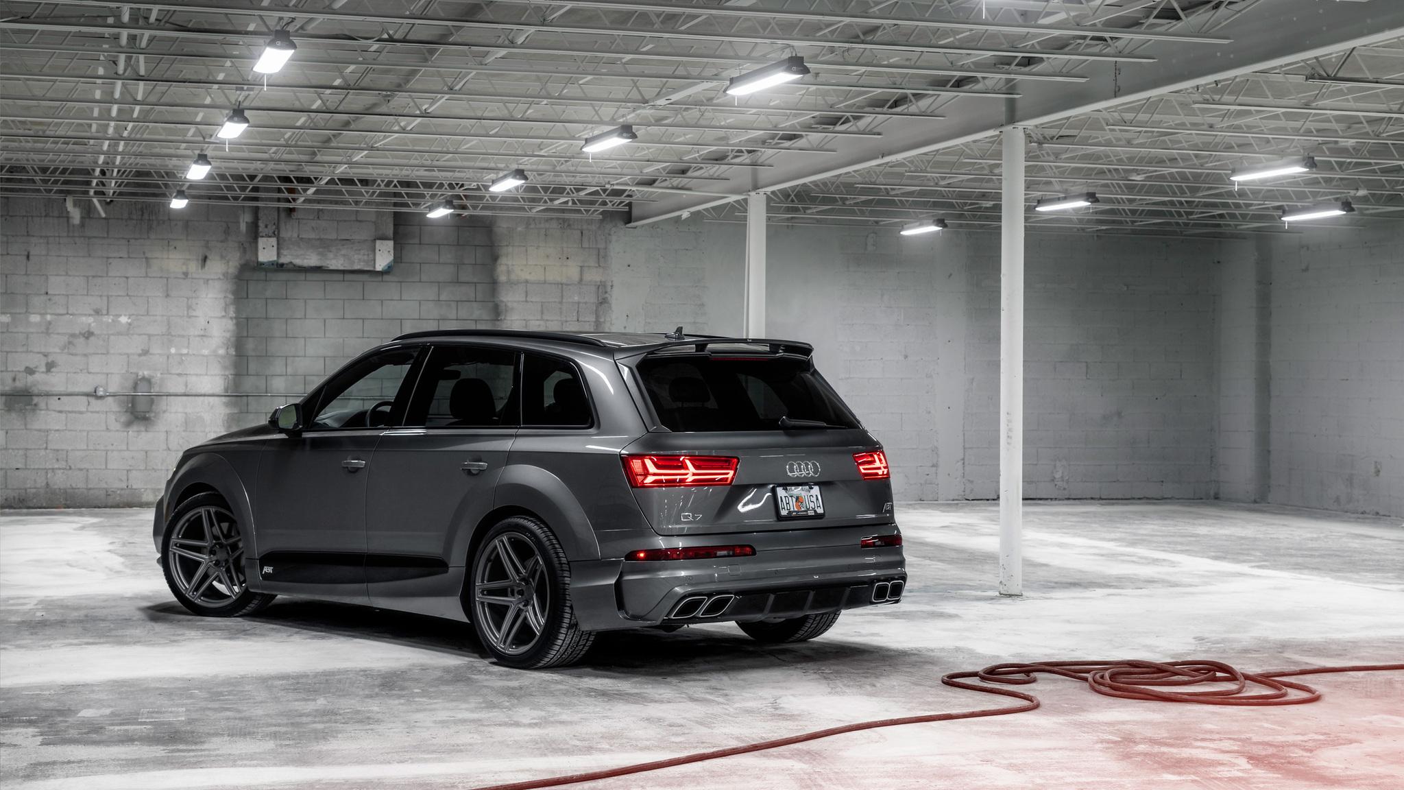 2048x1152 Audi Q7 Abt Vossen 2017 2048x1152 Resolution Hd 4k