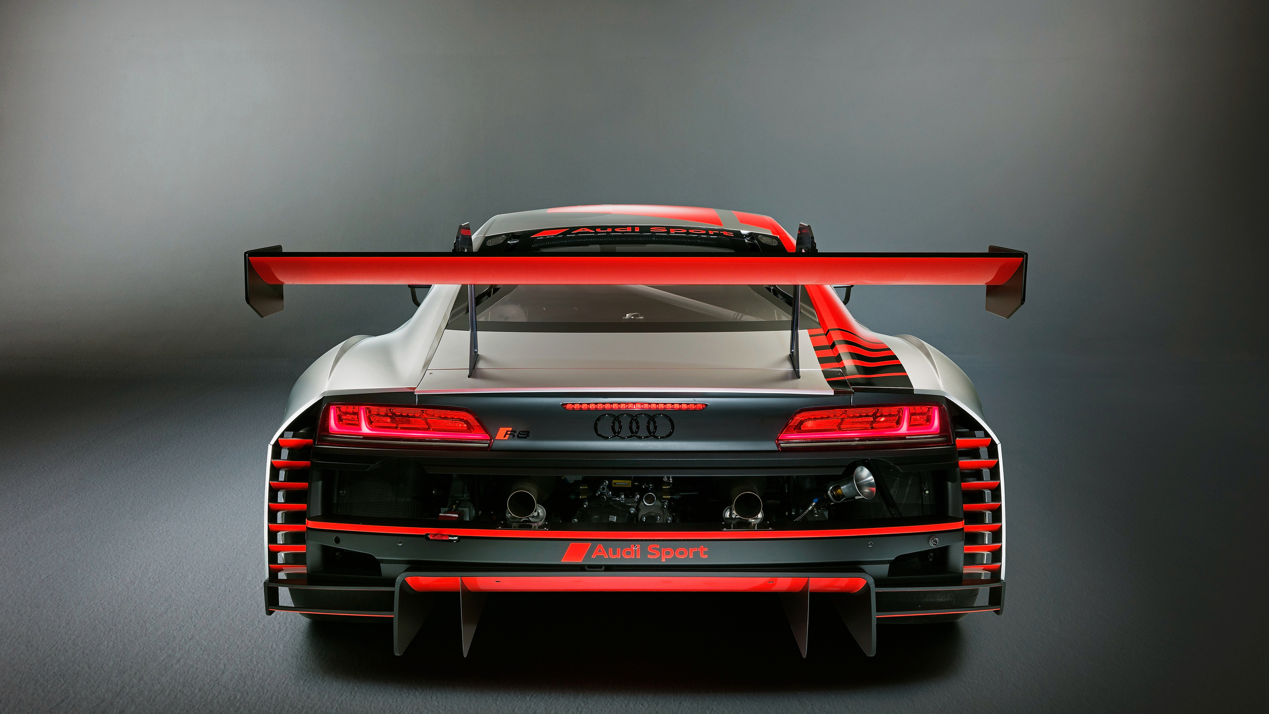 2560x1440 Audi R8 LMS 2019 Rear 1440P Resolution HD 4k ...