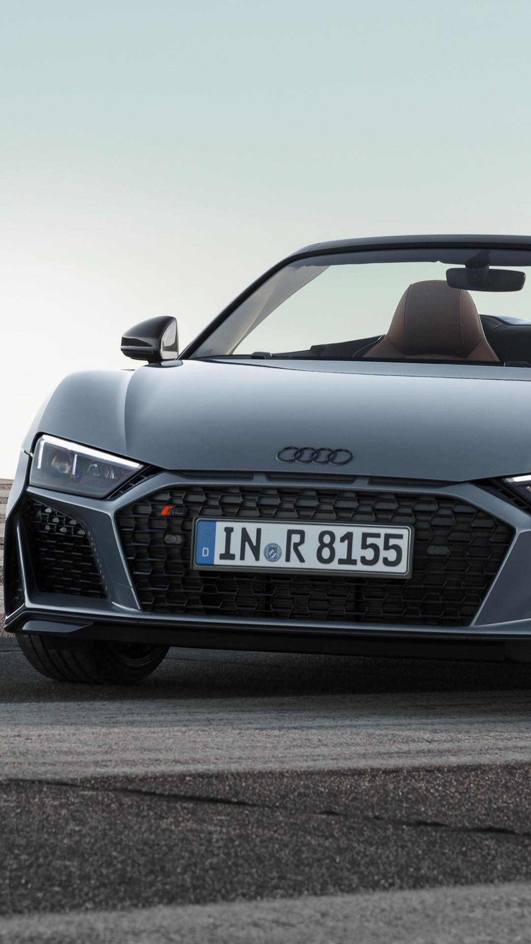 Audi R8 Spyder V10 2019 4k 6 Wallpapers