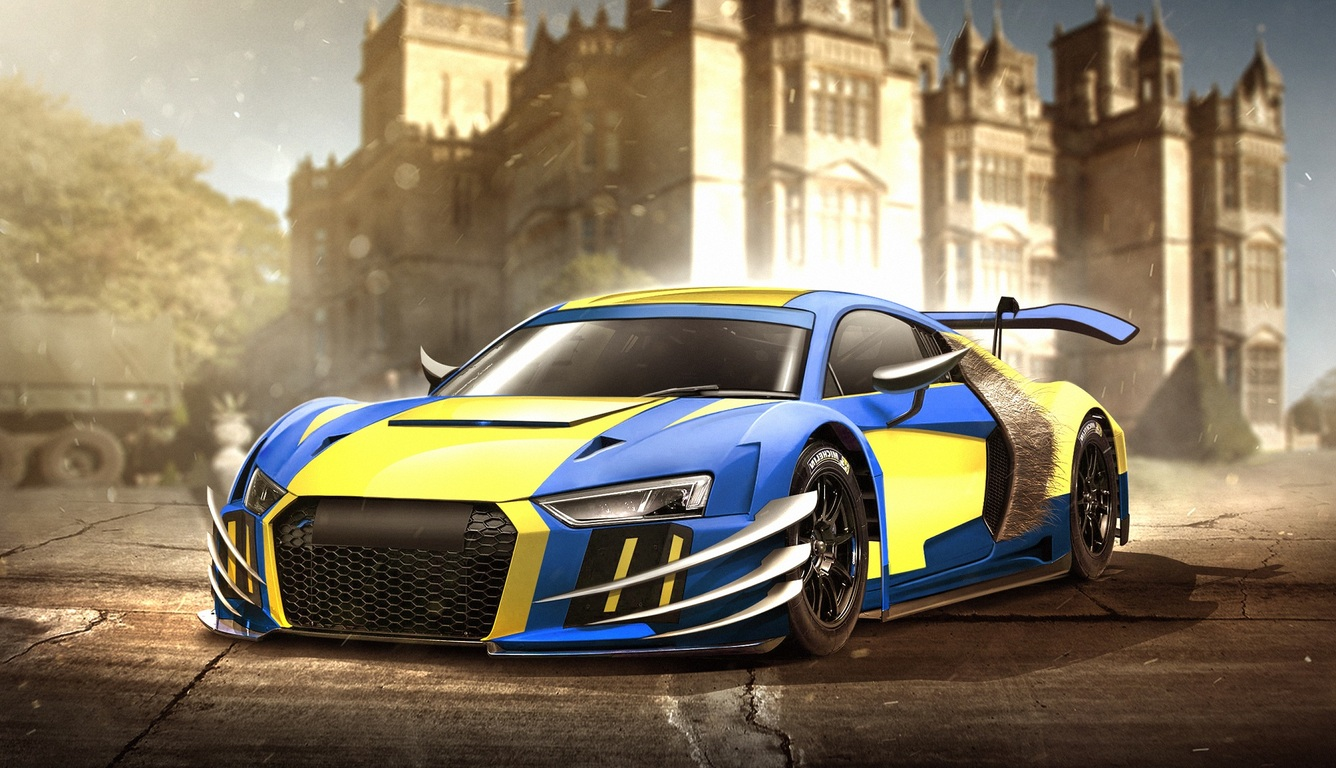 1336x768 Audi R8 Wolverine Laptop Hd Hd 4k Wallpapers Images
