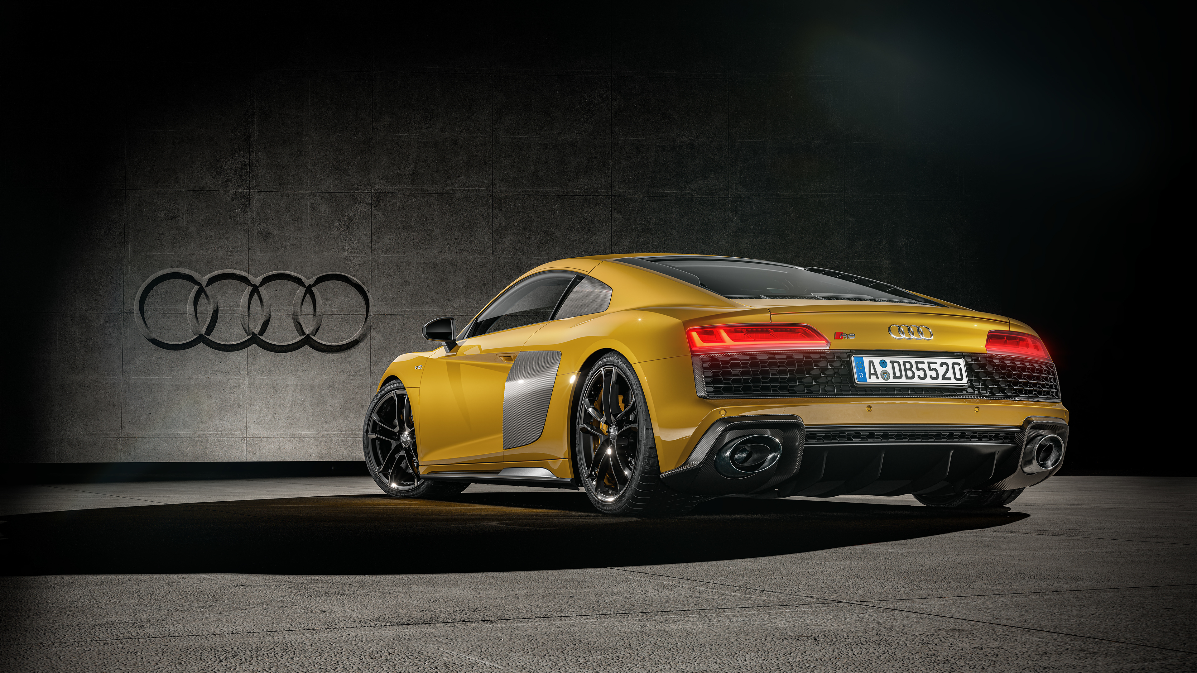 3840x2160 Audi R8 Yellow 2020 4k HD 4k Wallpapers, Images ...