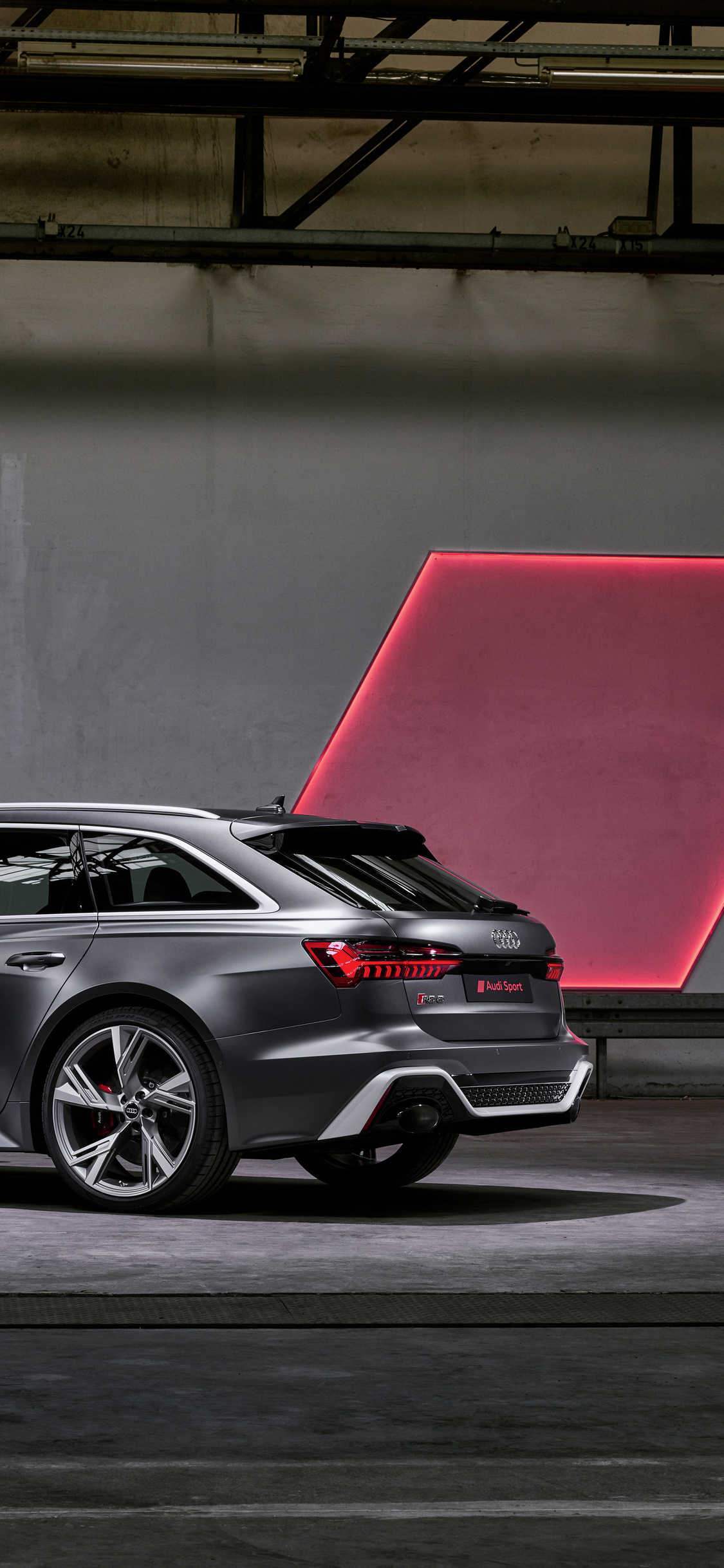1125x2436 Audi Rs 6 Avant 2019 Rear Iphone Xs Iphone 10
