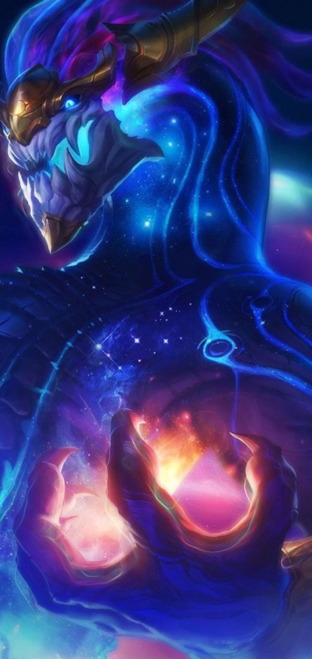 1080x2280 Aurelion Sol League Of Legends One Plus 6huawei P20honor