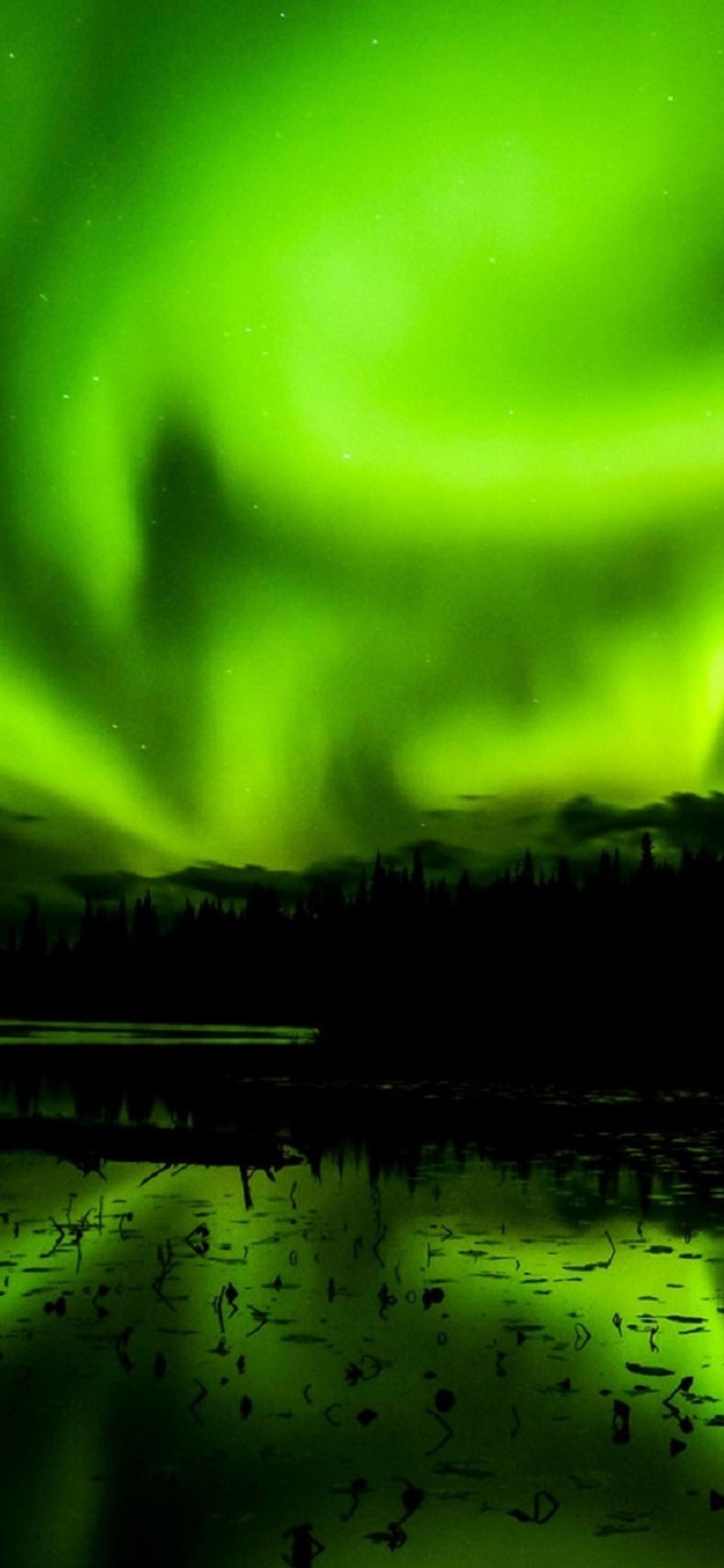 1125x2436 Aurora Borealis Northern Light Iphone Xs Iphone 10 Iphone