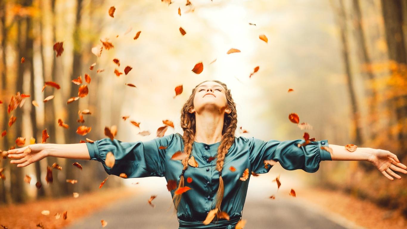 1366x768 Autumn Happiness 1366x768 Resolution Hd 4k