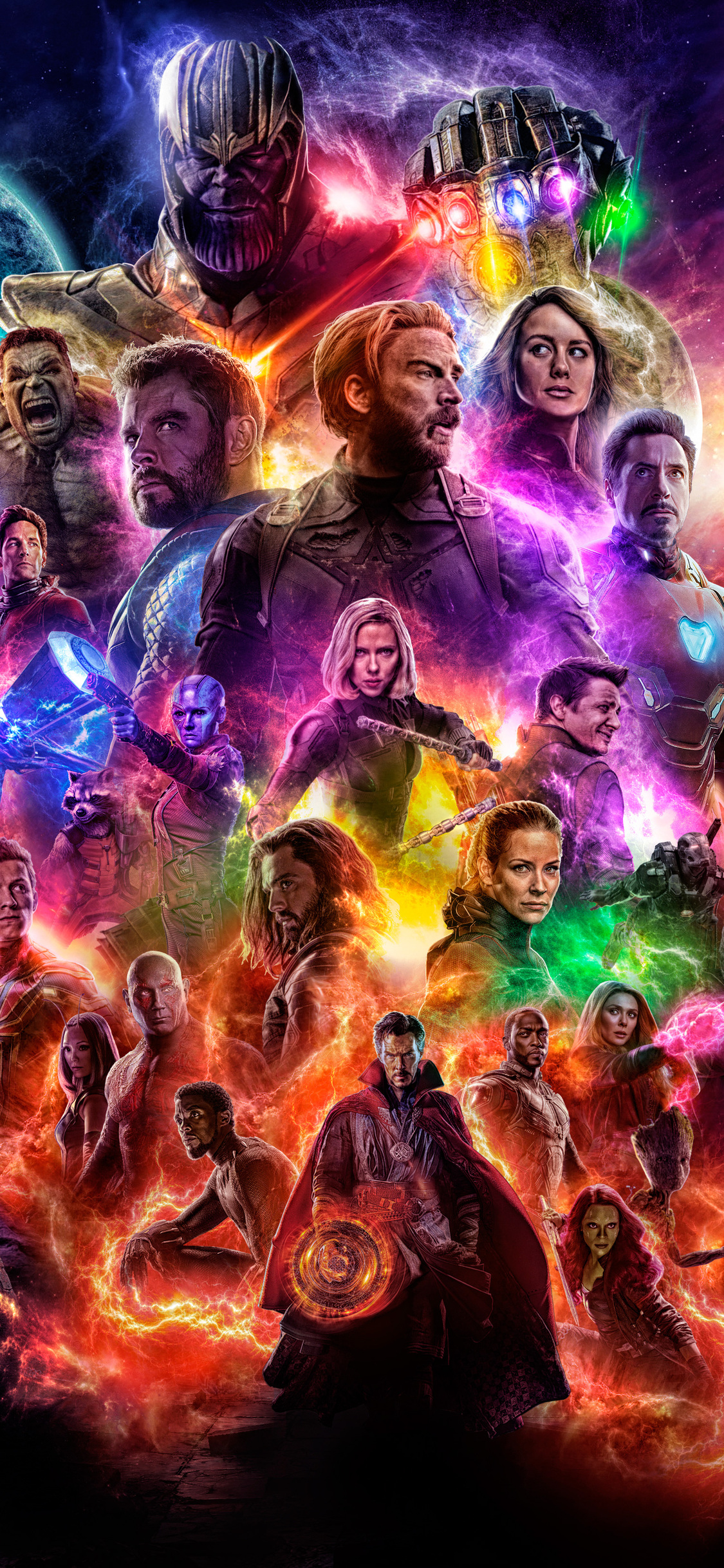 1125x2436 Avengers 4 End Game 2019 Iphone Xsiphone 10iphone X Hd