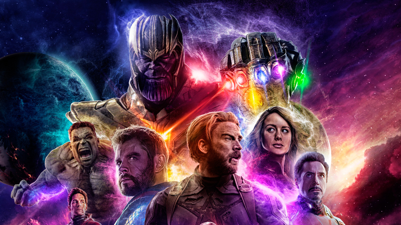 1366x768 Avengers 4 End Game 2019 1366x768 Resolution HD ...