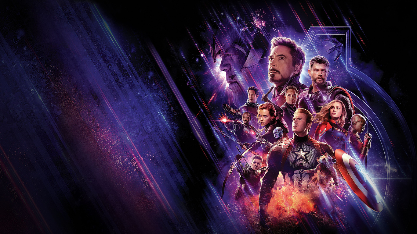 1366x768 Avengers End Game 4k Banner 1366x768 Resolution ...
