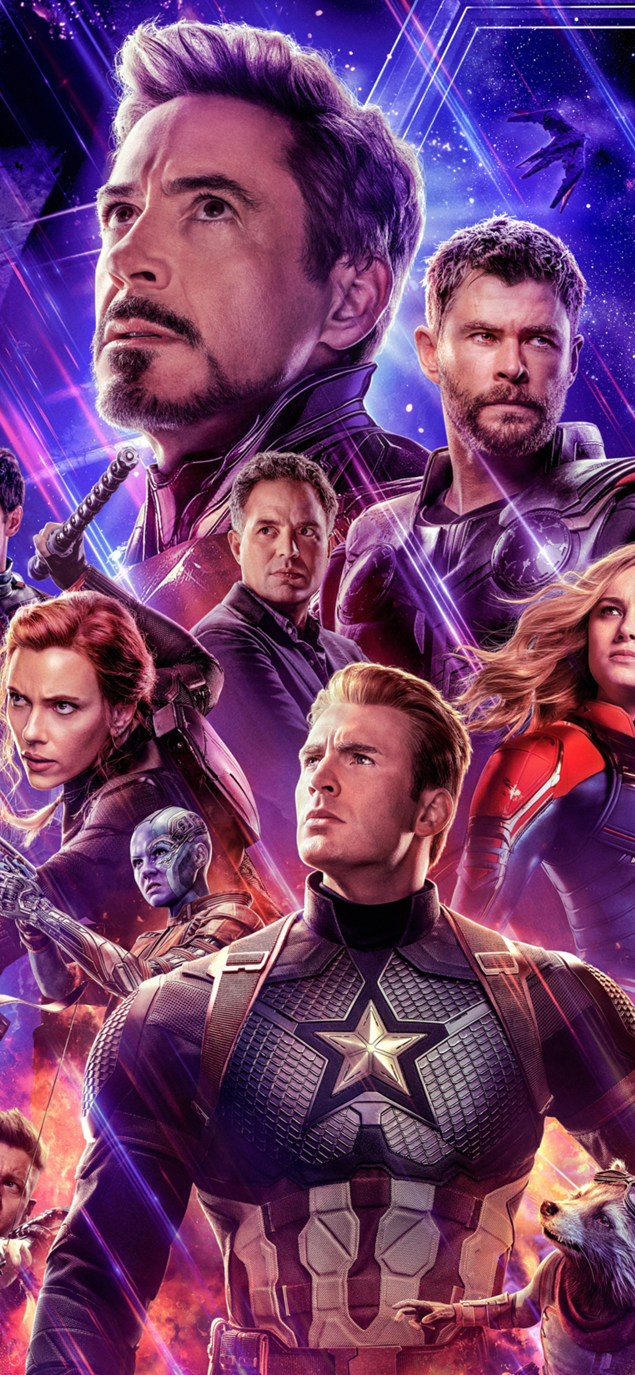 1242x2688 Avengers Endgame 2019 Official New Poster Iphone Xs Max Hd