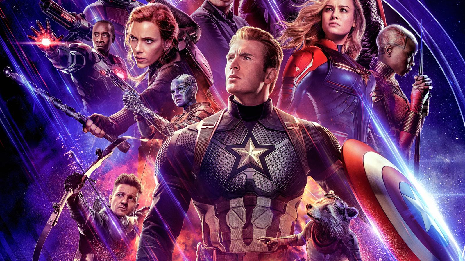1600x900 Avengers Endgame 2019 Official New Poster ...