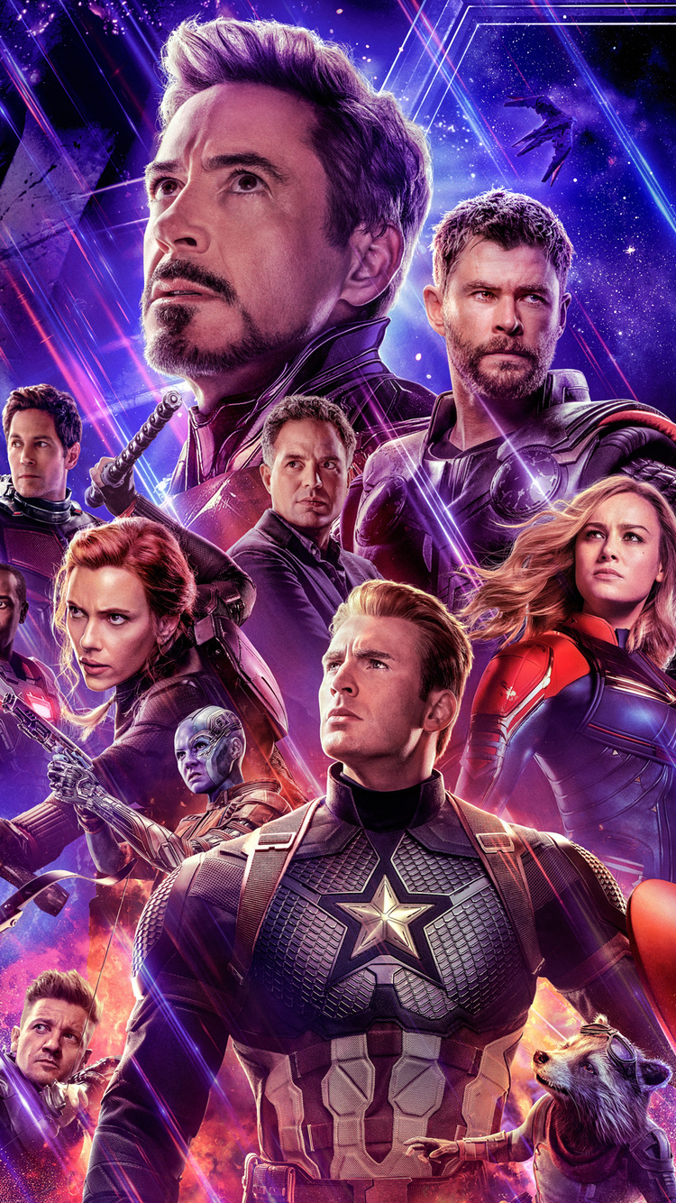 750x1334 Avengers Endgame 2019 Official New Poster Iphone 6