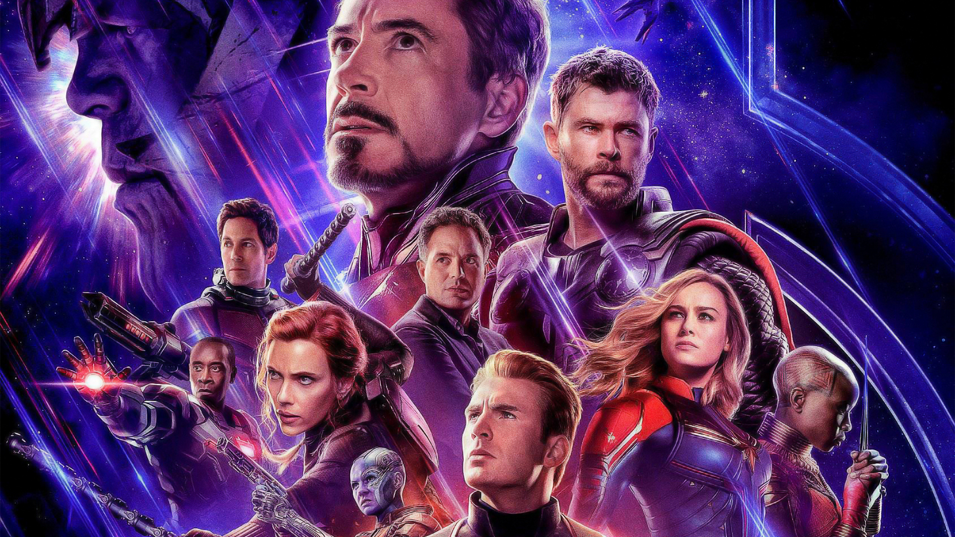 Avengers Endgame Official Wallpaper Hd Favourites Game Wallpaper