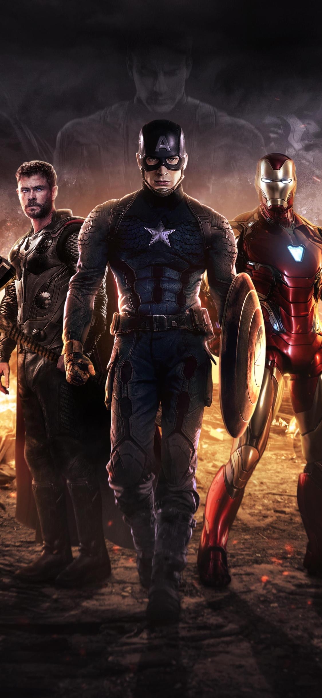 1125x2436 Avengers Endgame 4k 2019 Iphone Xs Iphone 10 Iphone X Hd