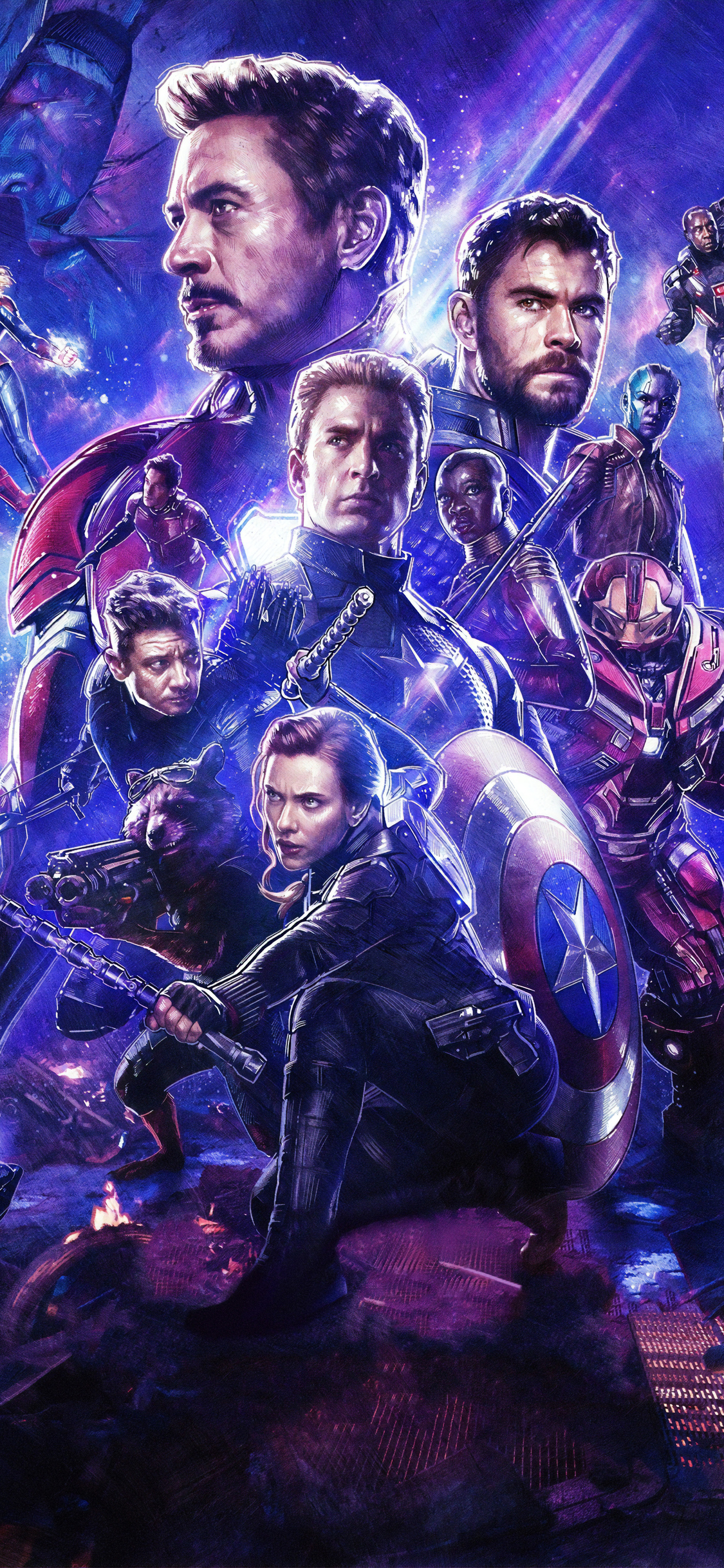 1125x2436 Avengers Endgame 4k Iphone Xsiphone 10iphone X Hd 4k