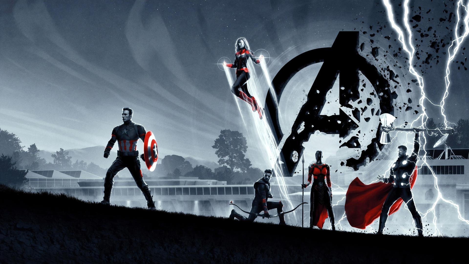 1920x1080 Avengers Endgame 8k 2019 Laptop Full HD 1080P HD ...