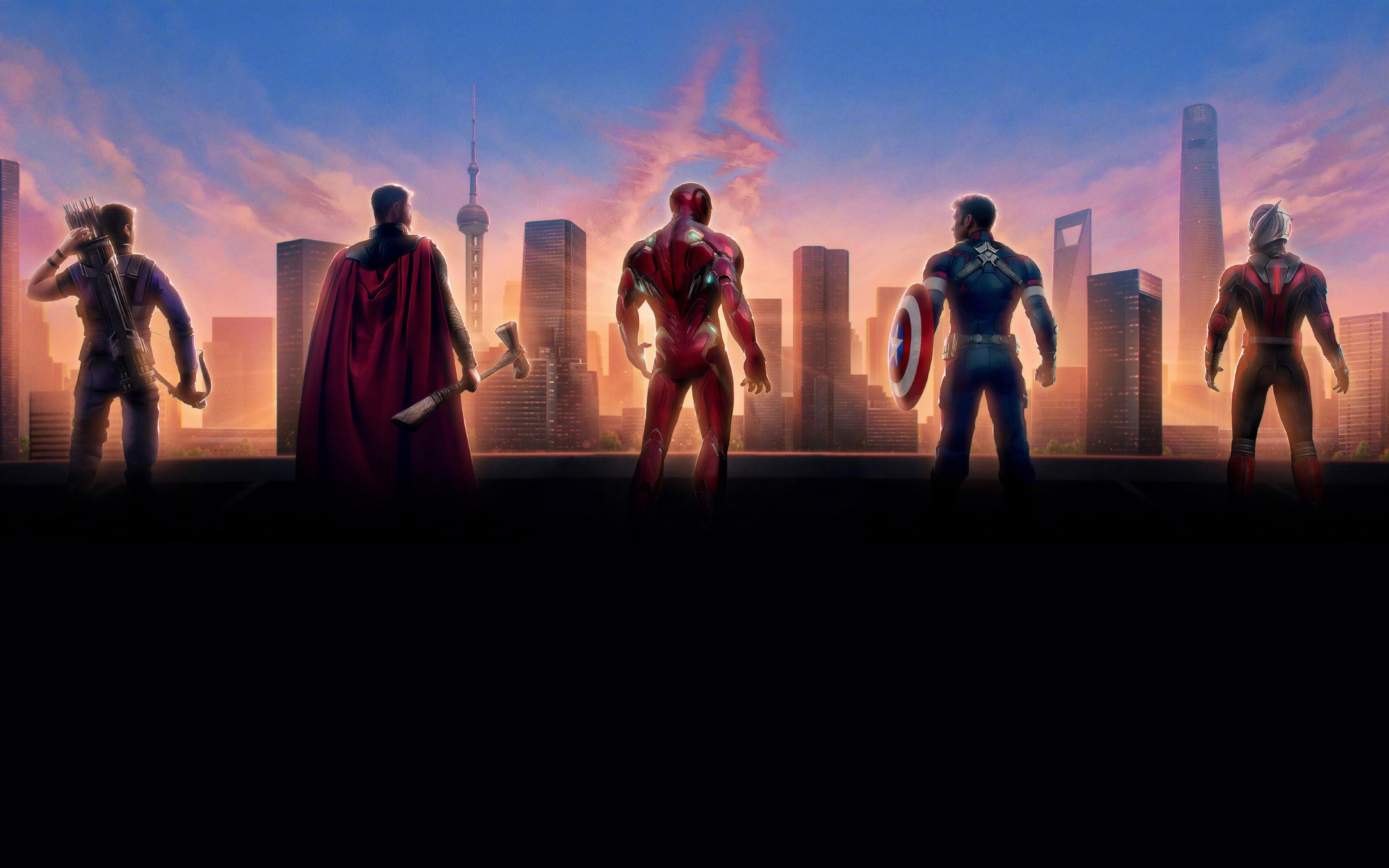 3840x2400 Avengers Endgame 8k Chinese Poster 4k Hd 4k Wallpapers
