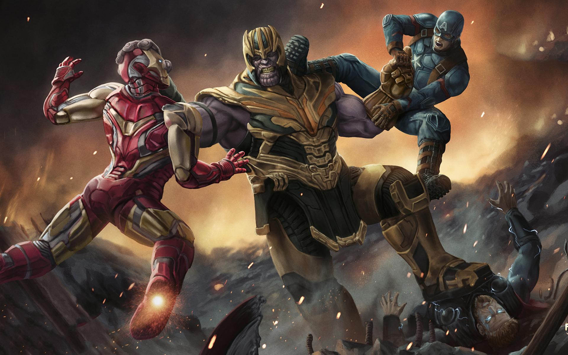 Avengers Endgame Amoled Wallpaper Blogger Ndeso