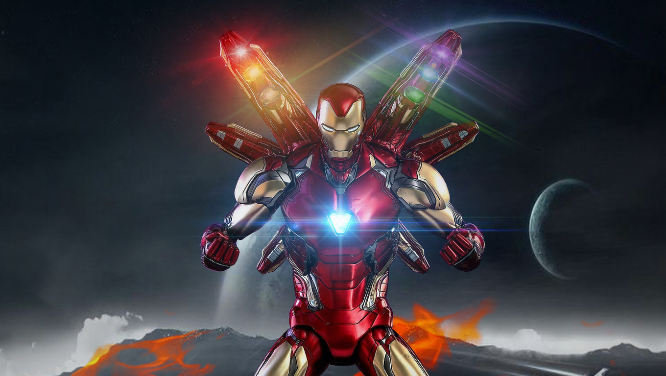 1360x768 Avengers Endgame Iron Man New Laptop Hd Hd 4k
