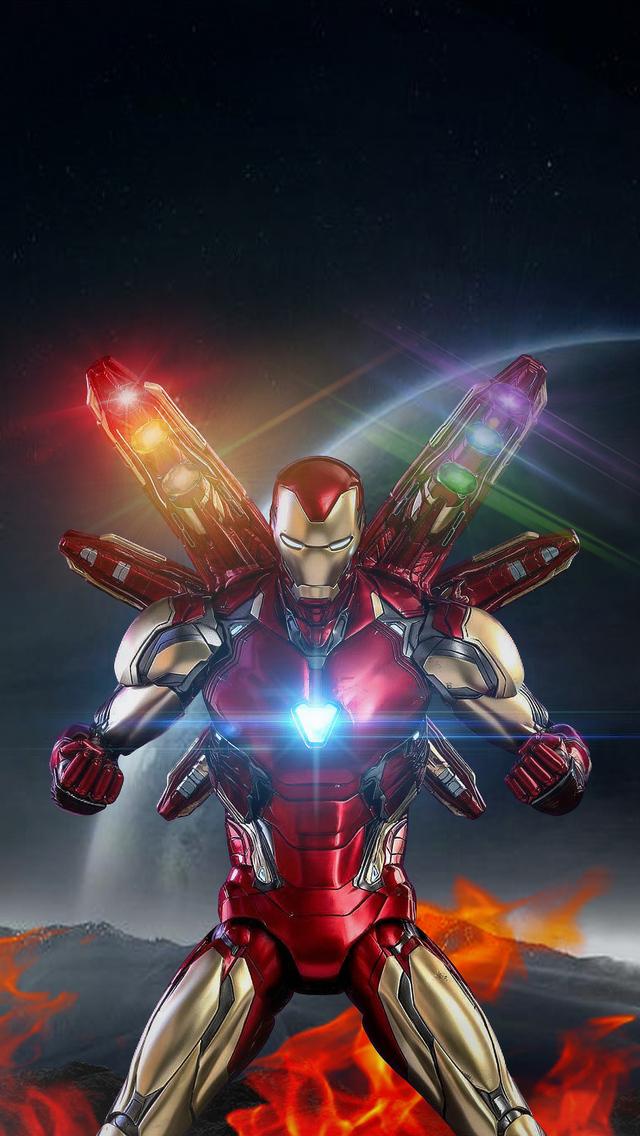 640x1136 Avengers Endgame Iron Man New Iphone 55c5sse