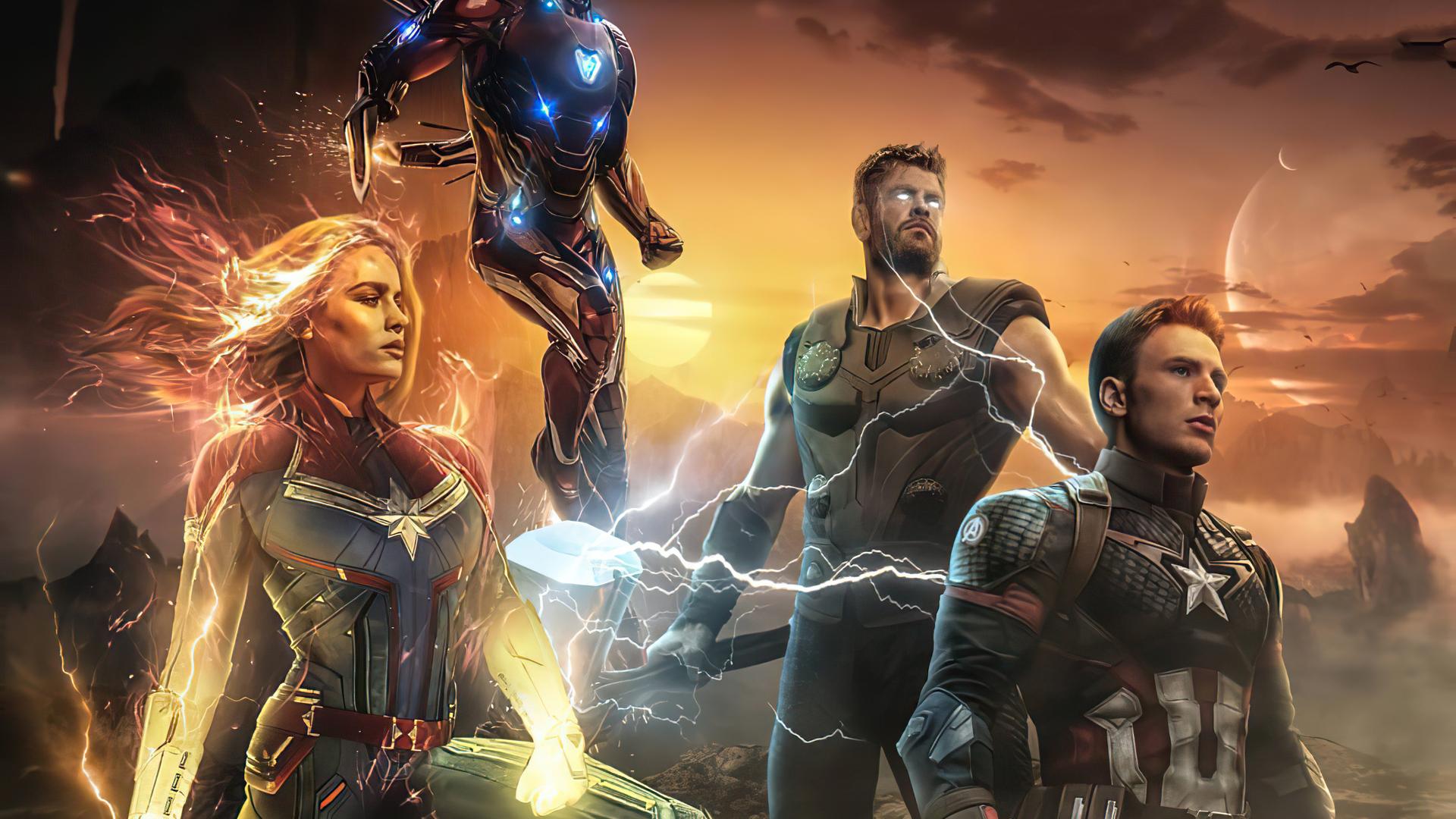 1920x1080 Avengers Endgame Movie 4k Laptop Full HD 1080P ...