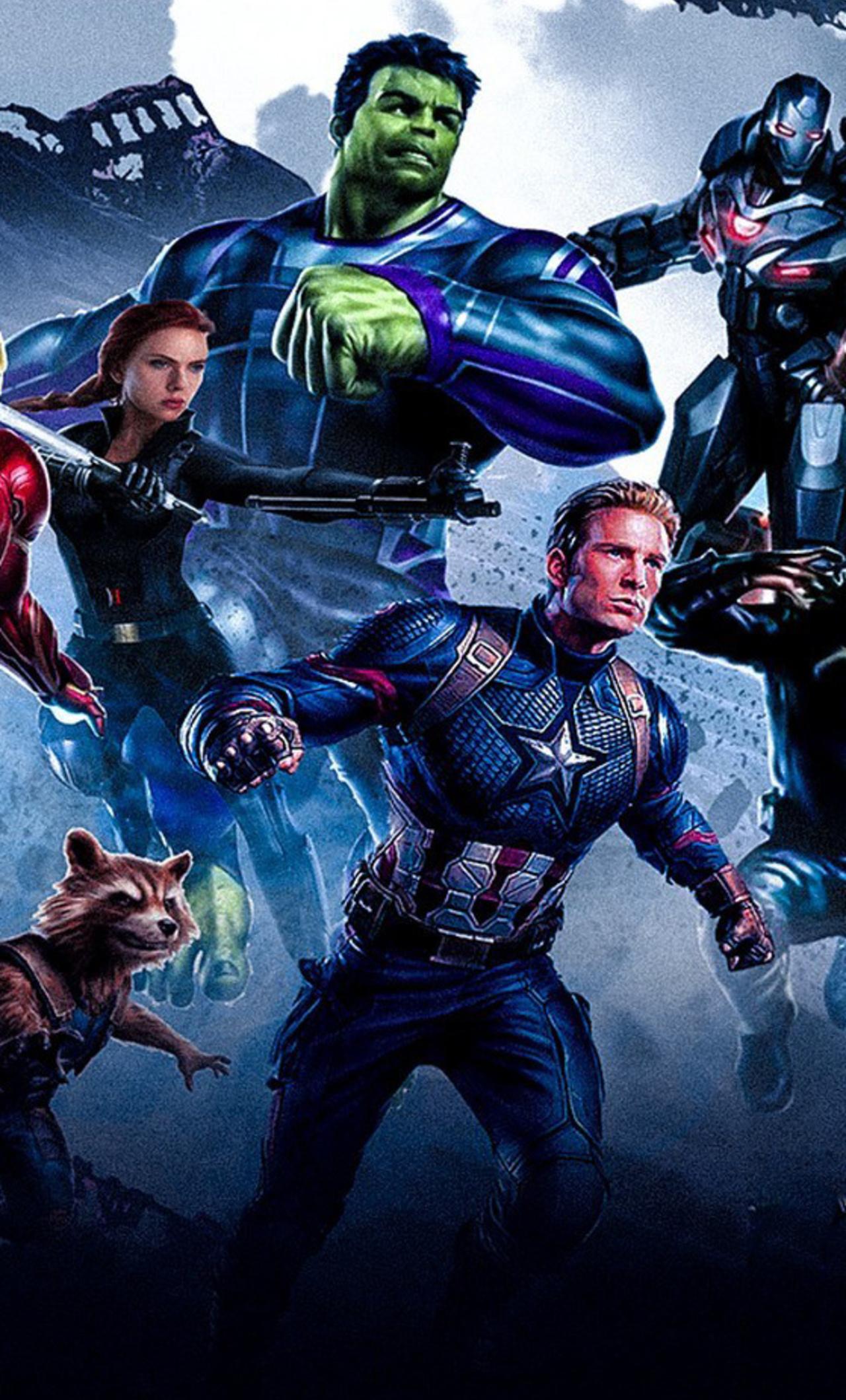 1280x2120 Avengers Endgame Poster iPhone 6+ HD 4k ...