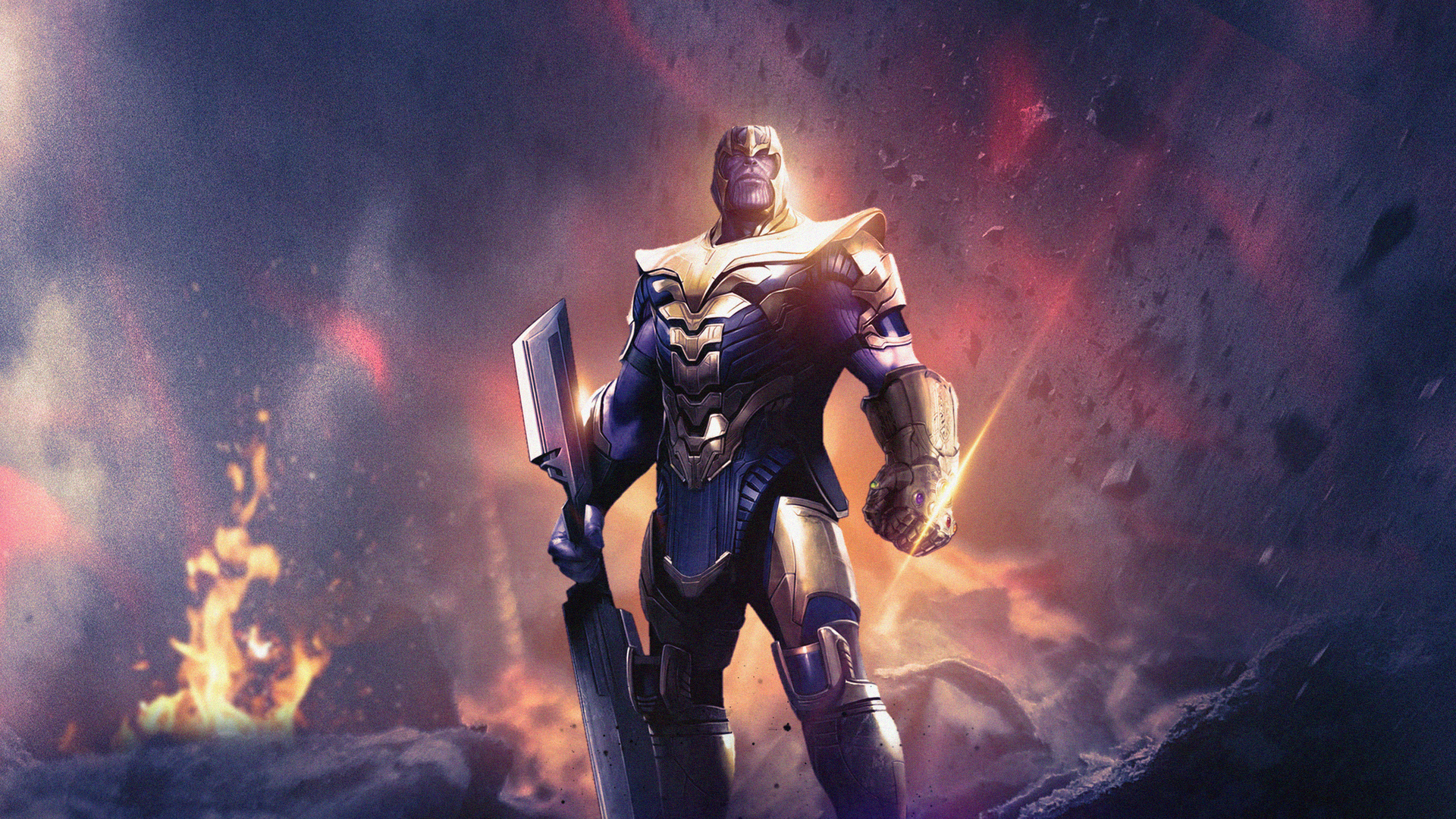 1920x1080 Avengers Endgame Thanos 4k Laptop Full HD 1080P ...