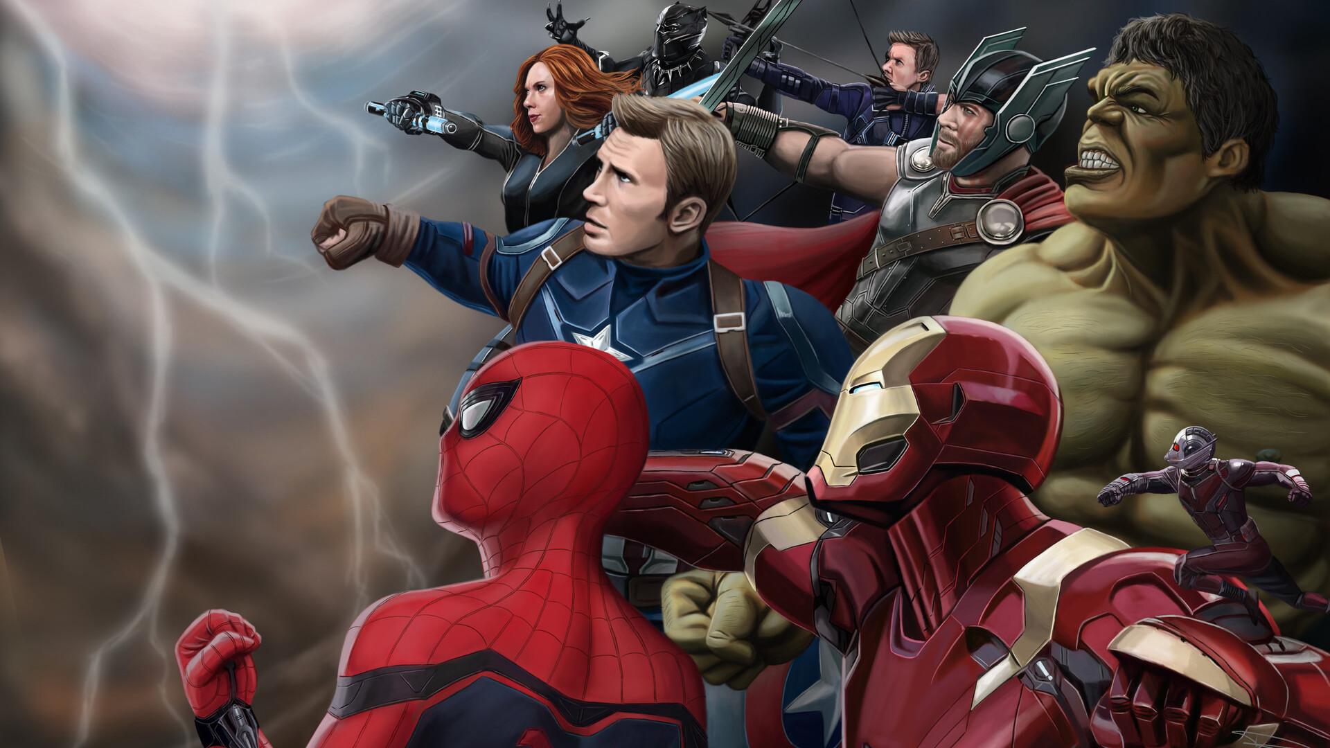 1920x1080 Avengers HD Laptop Full HD 1080P HD 4k ...