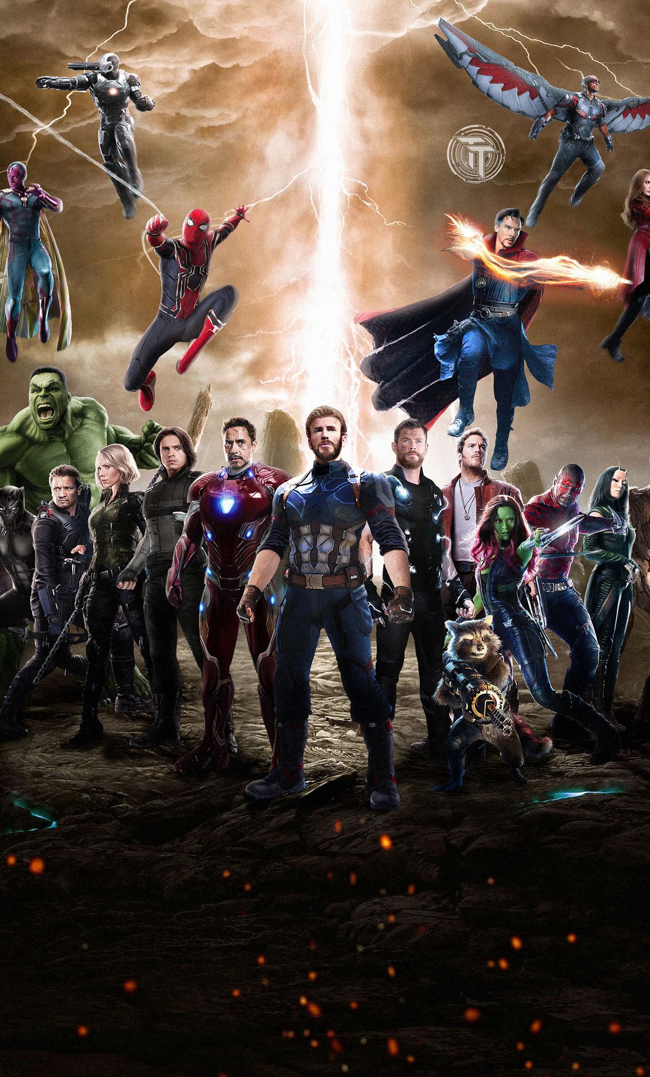 avengers infinity war iphone hd wallpaper wallpaper desktop hd
