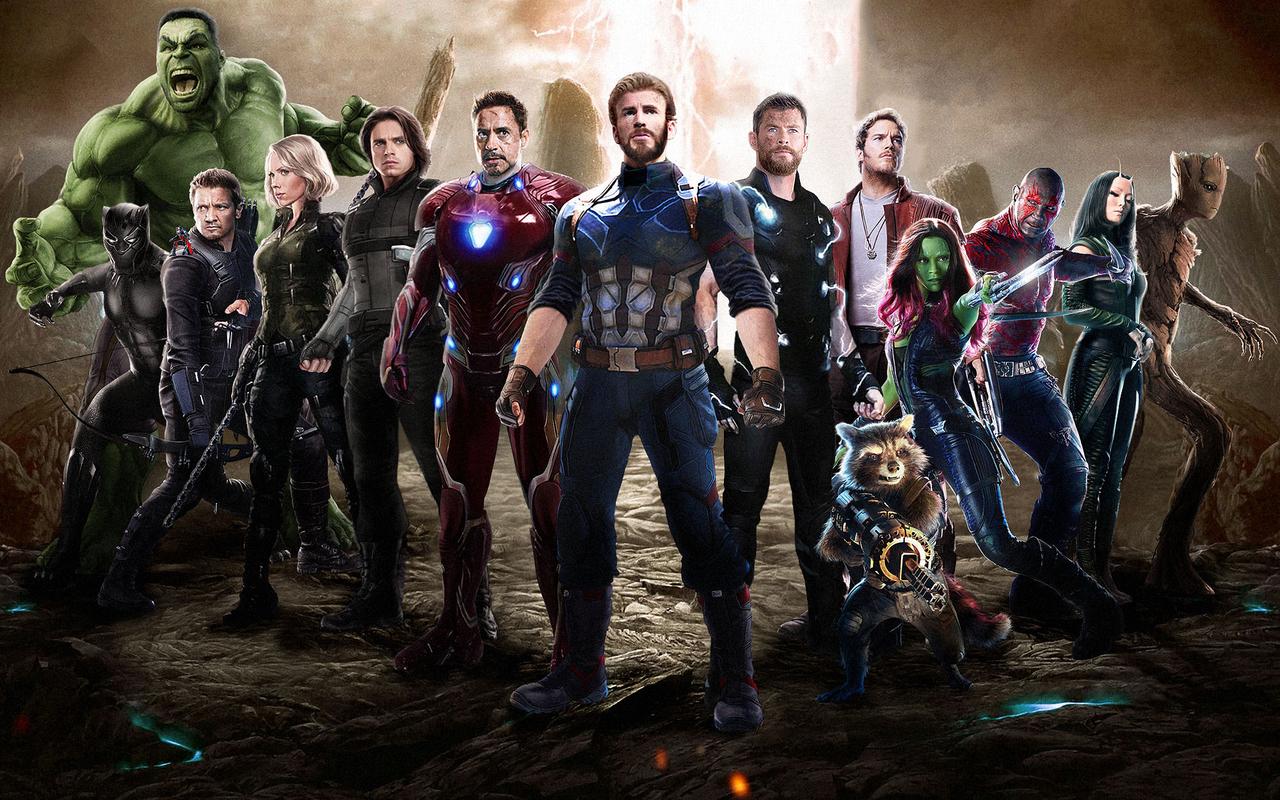 Avengers Infinity War Logo Hd