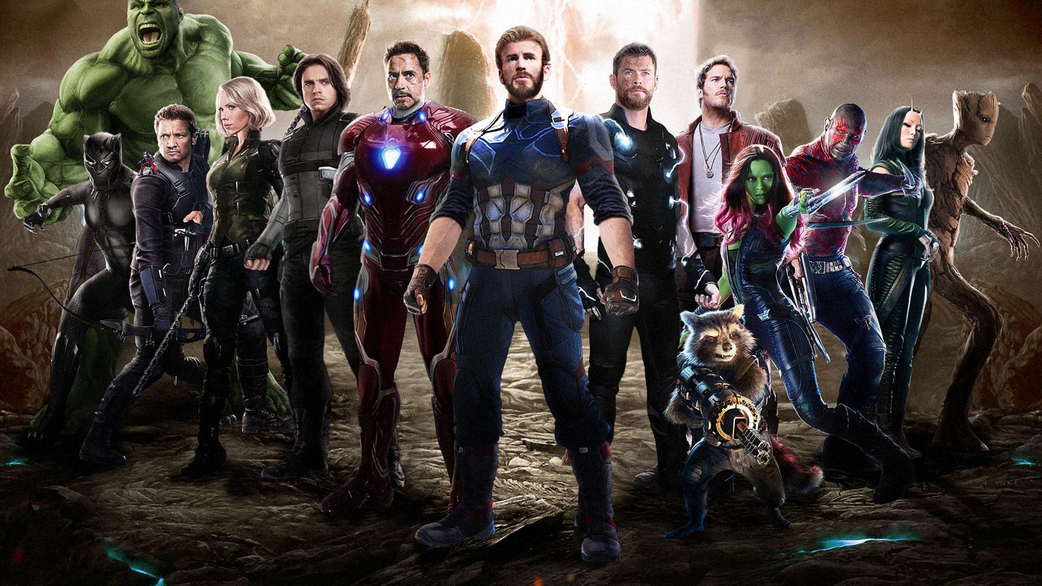 2048x1152 Pubg Fan Art 2048x1152 Resolution Hd 4k: 2048x1152 Avengers Infinity War 2018 Movie Fan Art