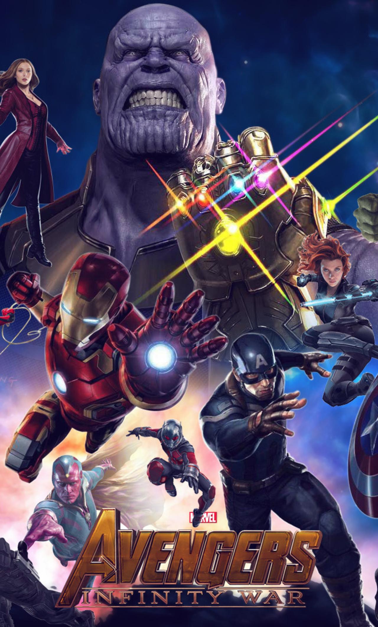 1280x2120 Avengers Infinity War 2018 Movie iPhone 6+ HD 4k ...