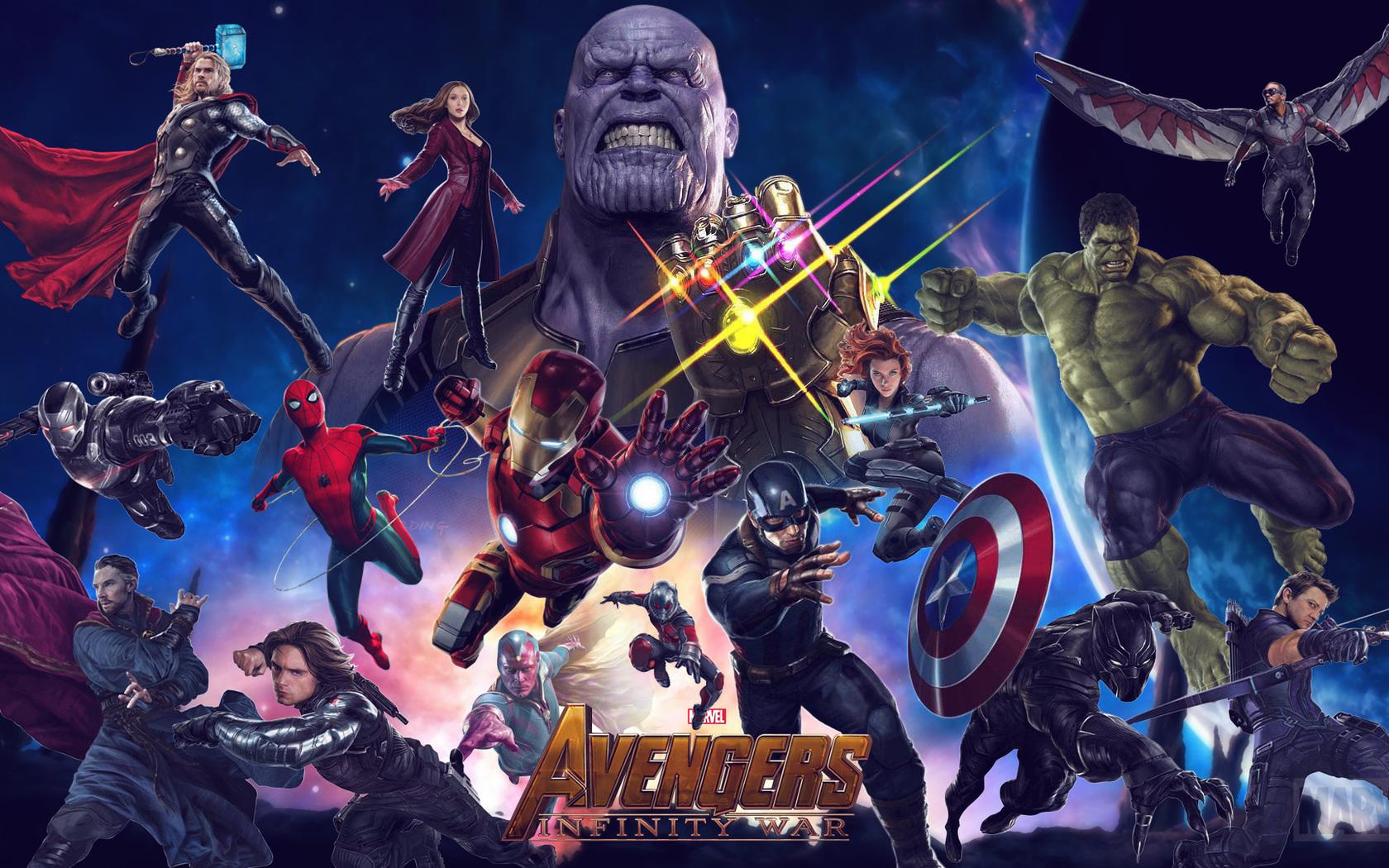 1680x1050 Avengers Infinity War 2018 Movie 1680x1050
