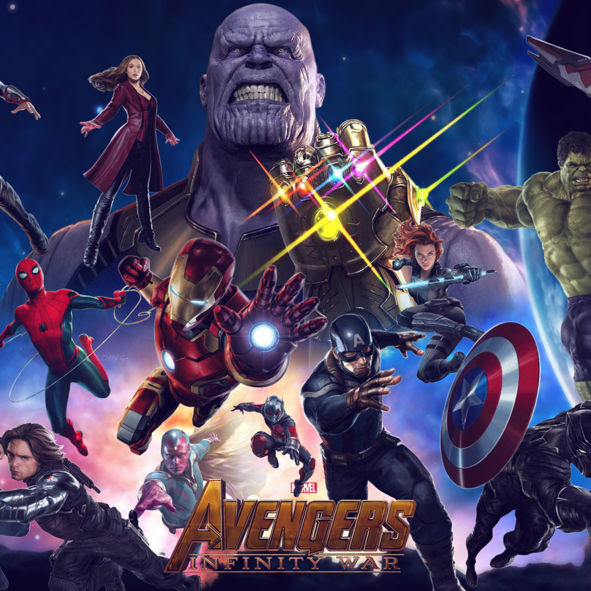 Great Wallpaper Marvel Ipad Mini - avengers-infinity-war-2018-movie-x8-2048x2048  Perfect Image Reference_241123.jpg